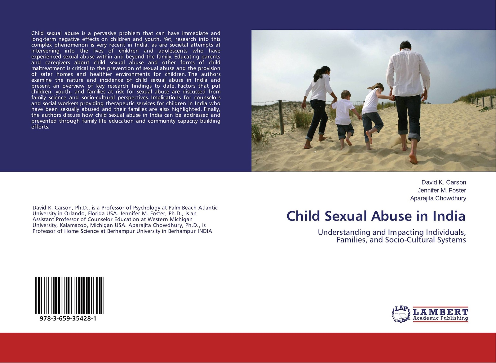 David K. Carson,Jennifer M. Foster and Aparajita Chowdhury Child Sexual Abuse in India paris goodyear brown handbook of child sexual abuse identification assessment and treatment