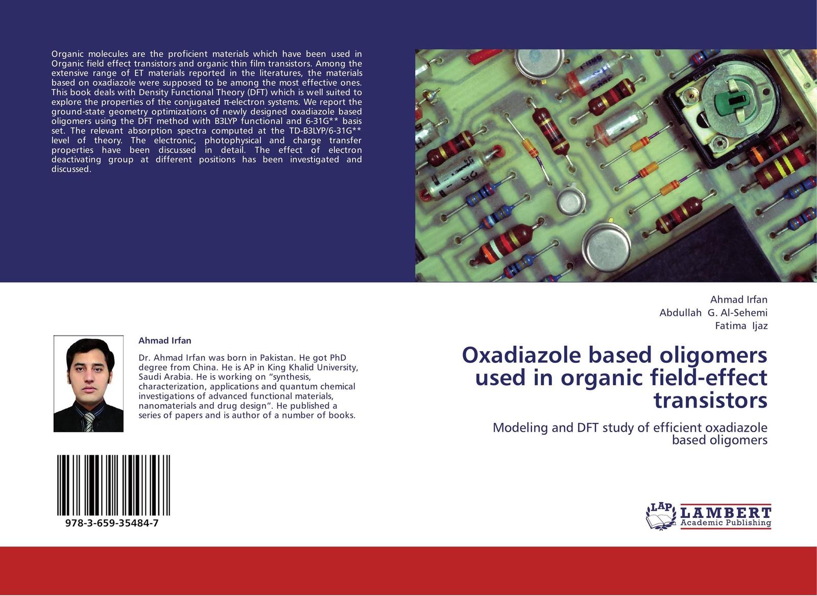 Ahmad Irfan,Abdullah G. Al-Sehemi and Fatima Ijaz Oxadiazole based oligomers used in organic field-effect transistors 50pcs free shipping mpsa13 a13 to 92 darlington transistors 500ma 30v npn