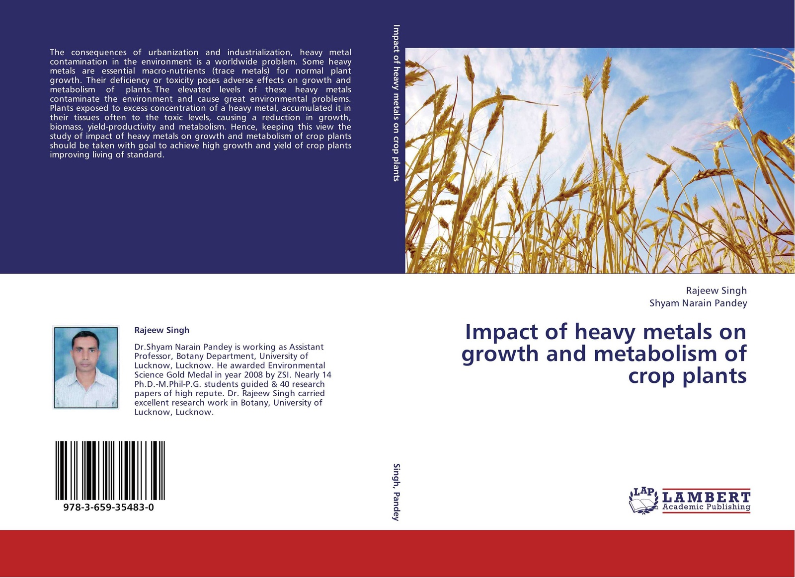 где купить Rajeew Singh and Shyam Narain Pandey Impact of heavy metals on growth and metabolism of crop plants дешево