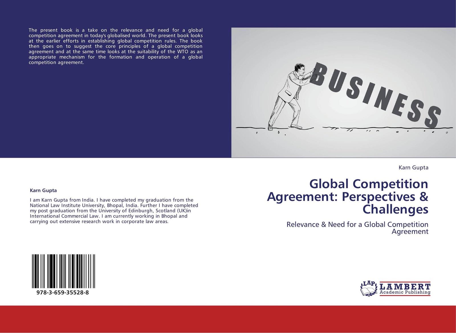 лучшая цена Karn Gupta Global Competition Agreement: Perspectives & Challenges