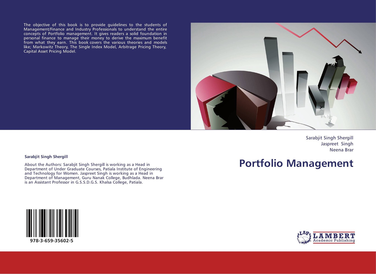Фото - Sarabjit Singh Shergill,Jaspreet Singh and Neena Brar Portfolio Management ralph vince the leverage space trading model reconciling portfolio management strategies and economic theory