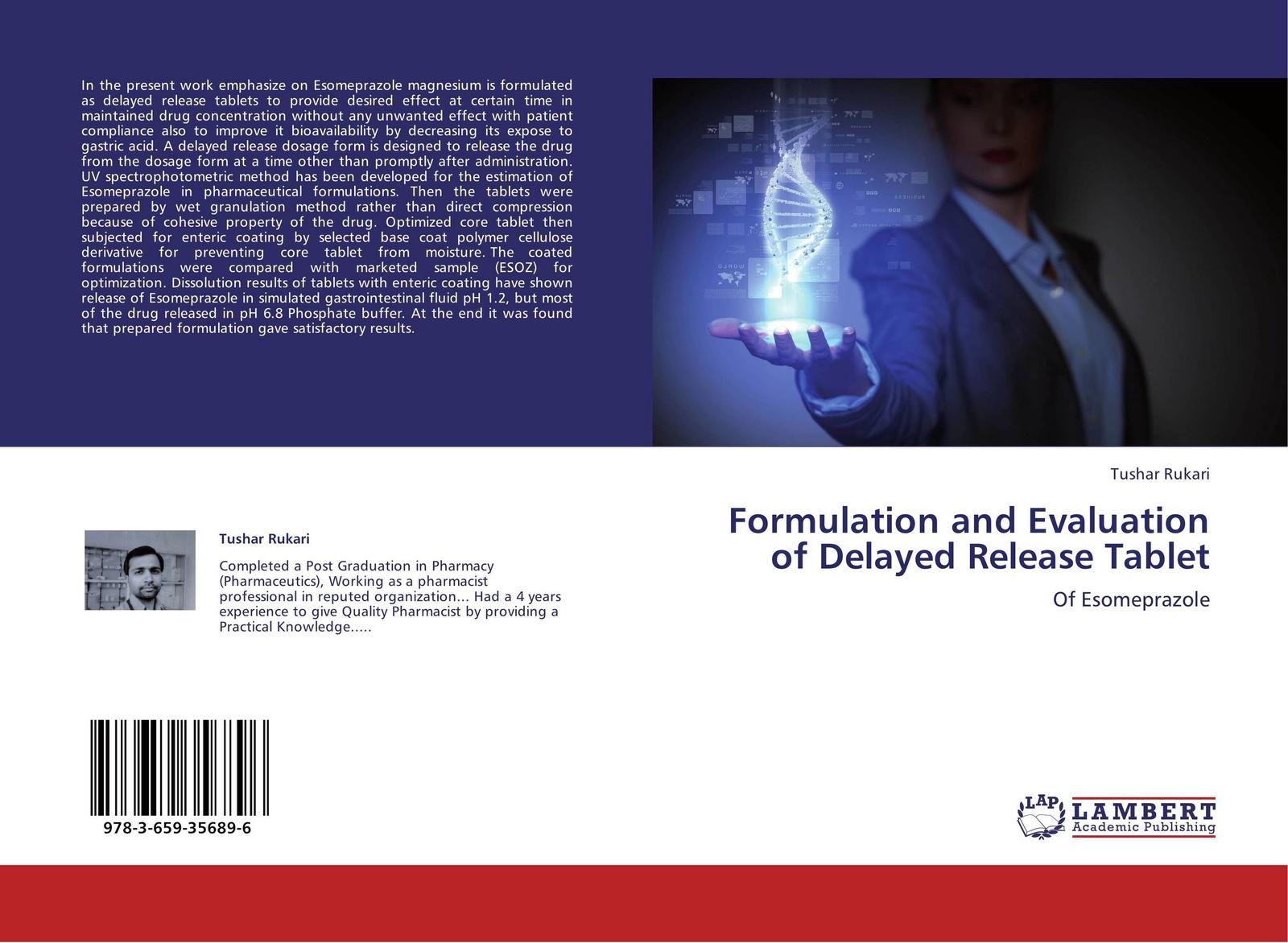 Tushar Rukari Formulation and Evaluation of Delayed Release Tablet formulation and evaluation of amlodipine besylate tablets