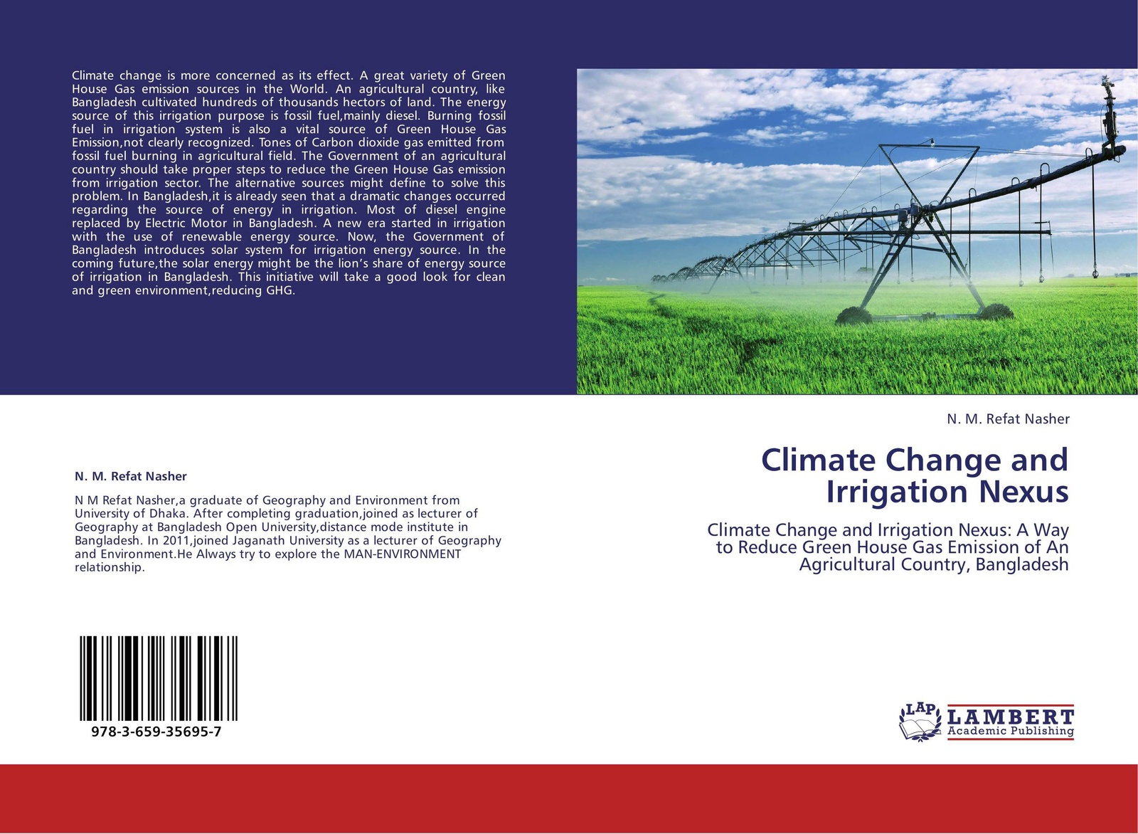 N. M. Refat Nasher Climate Change and Irrigation Nexus public understanding of climate change in urban bangladesh
