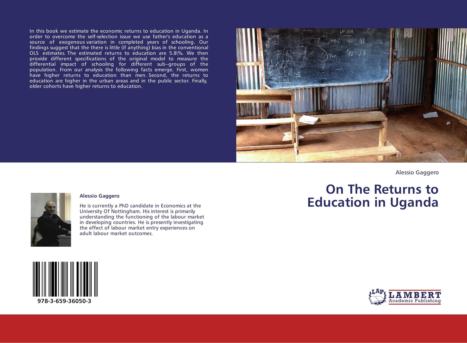 Alessio Gaggero On The Returns to Education in Uganda seid yimer returns to education and wage differential