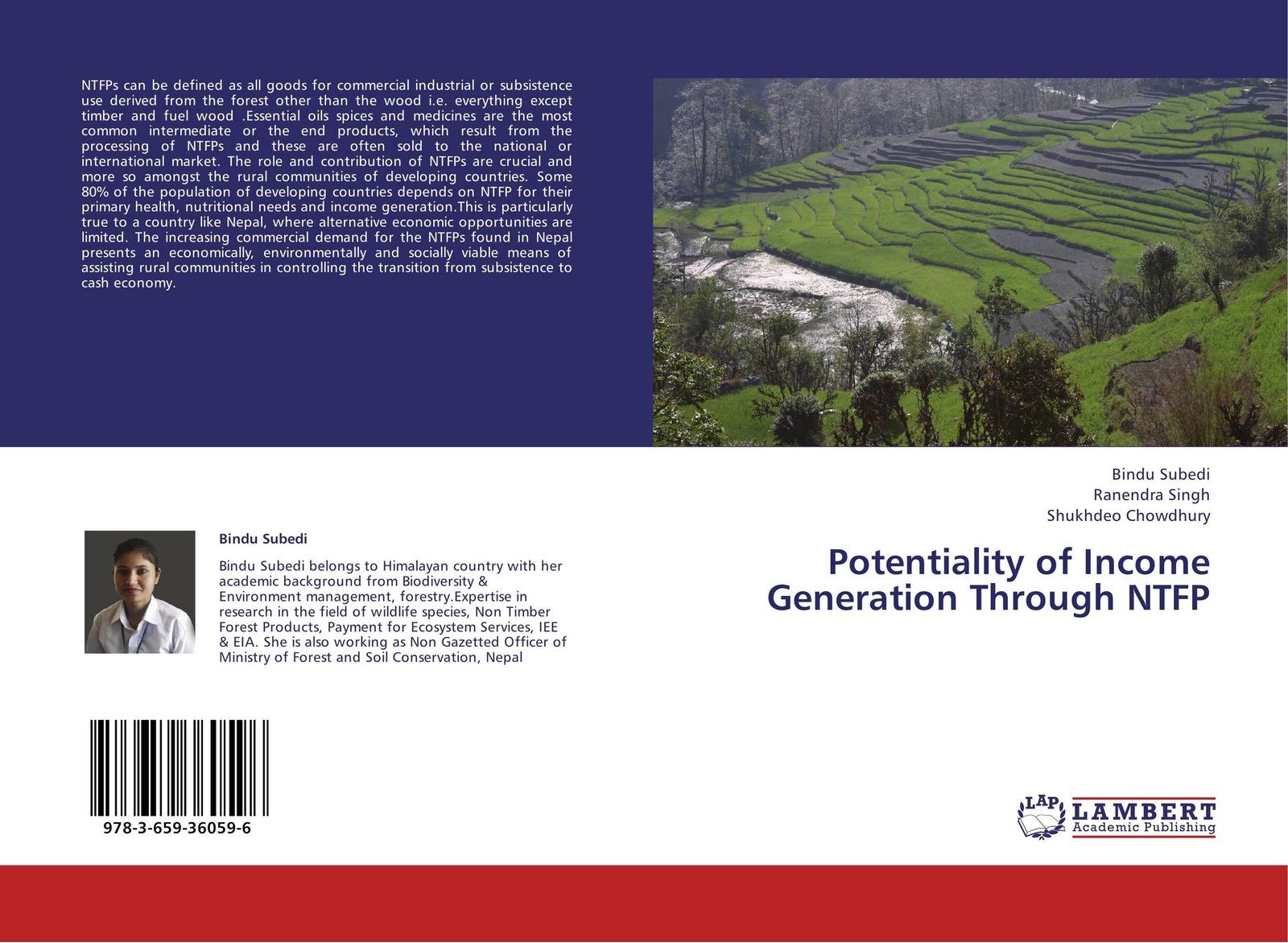 цены Bindu Subedi,Ranendra Singh and Shukhdeo Chowdhury Potentiality of Income Generation Through NTFP