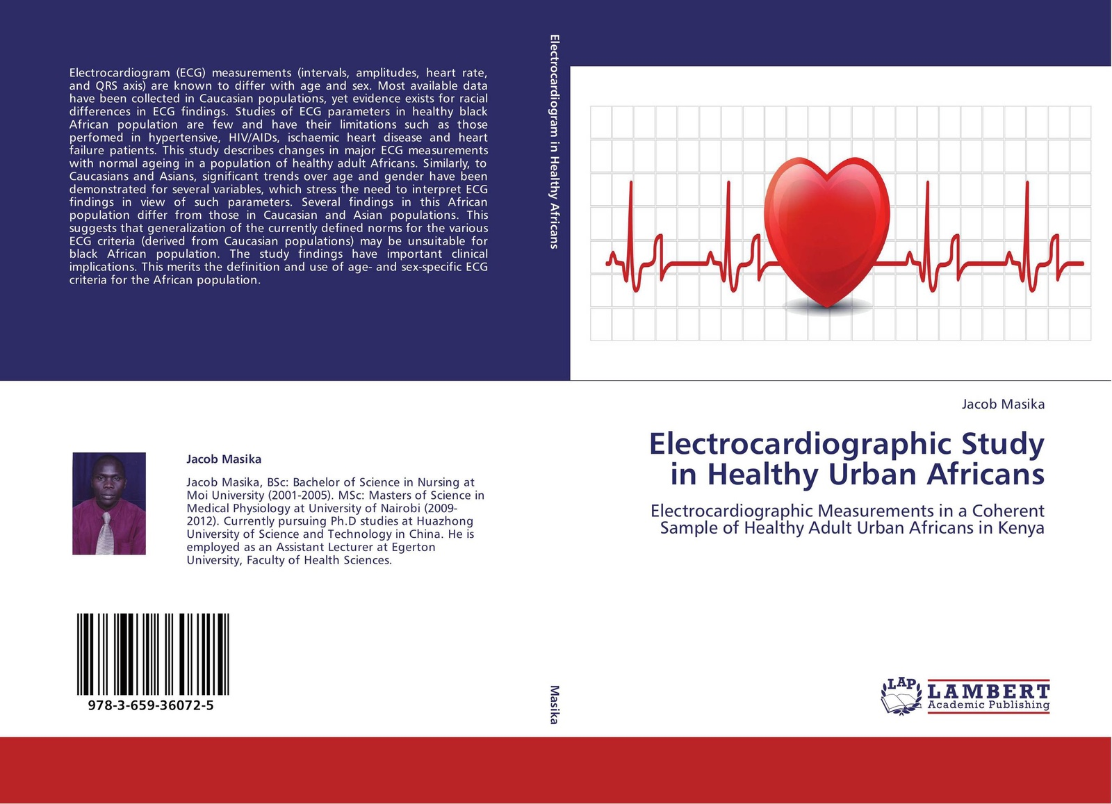 Jacob Masika Electrocardiographic Study in Healthy Urban Africans нордавинд ecg dongle кардиофлешка