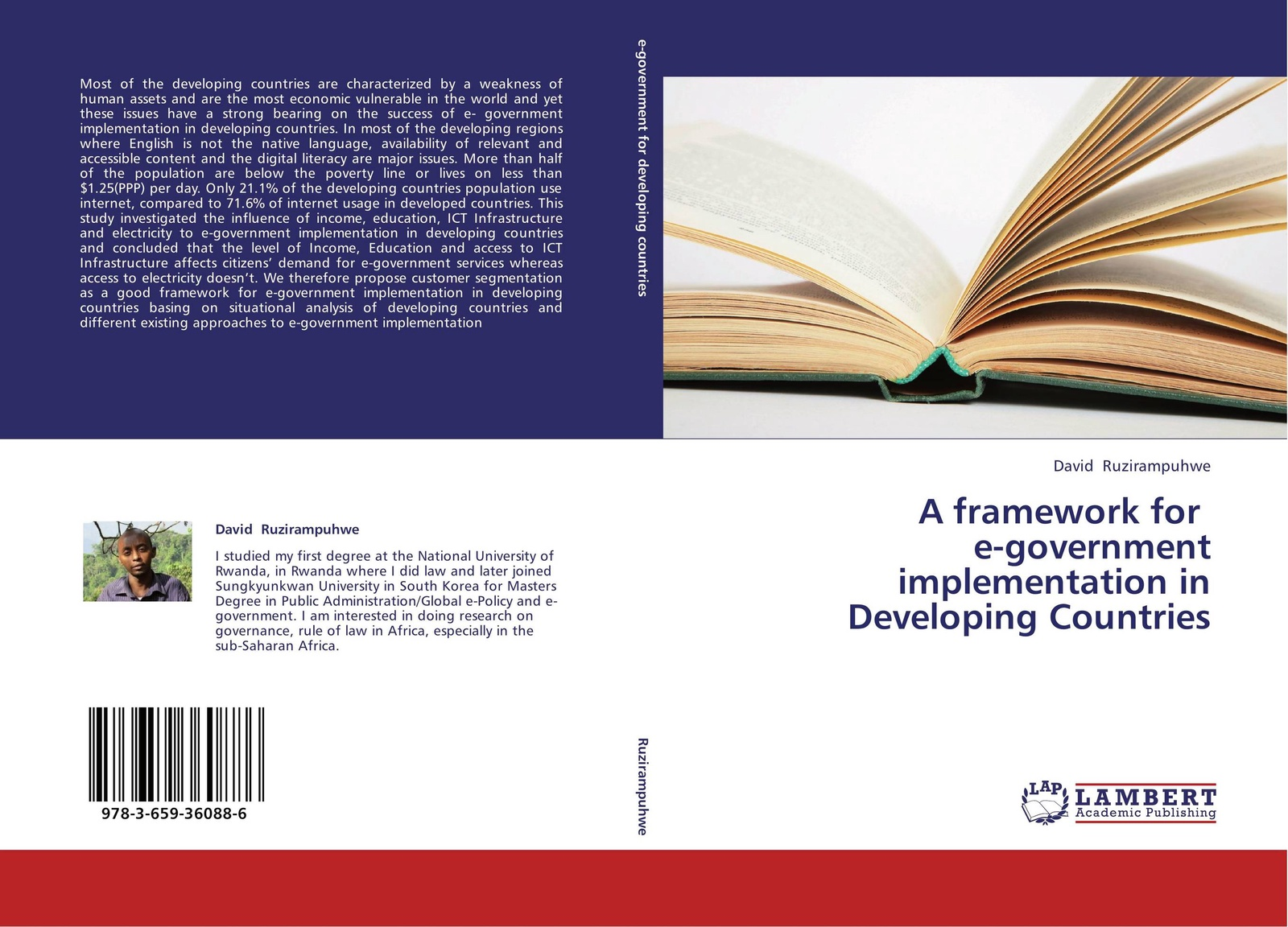 David Ruzirampuhwe A framework for e-government implementation in Developing Countries a generic architecture for e government and e democracy