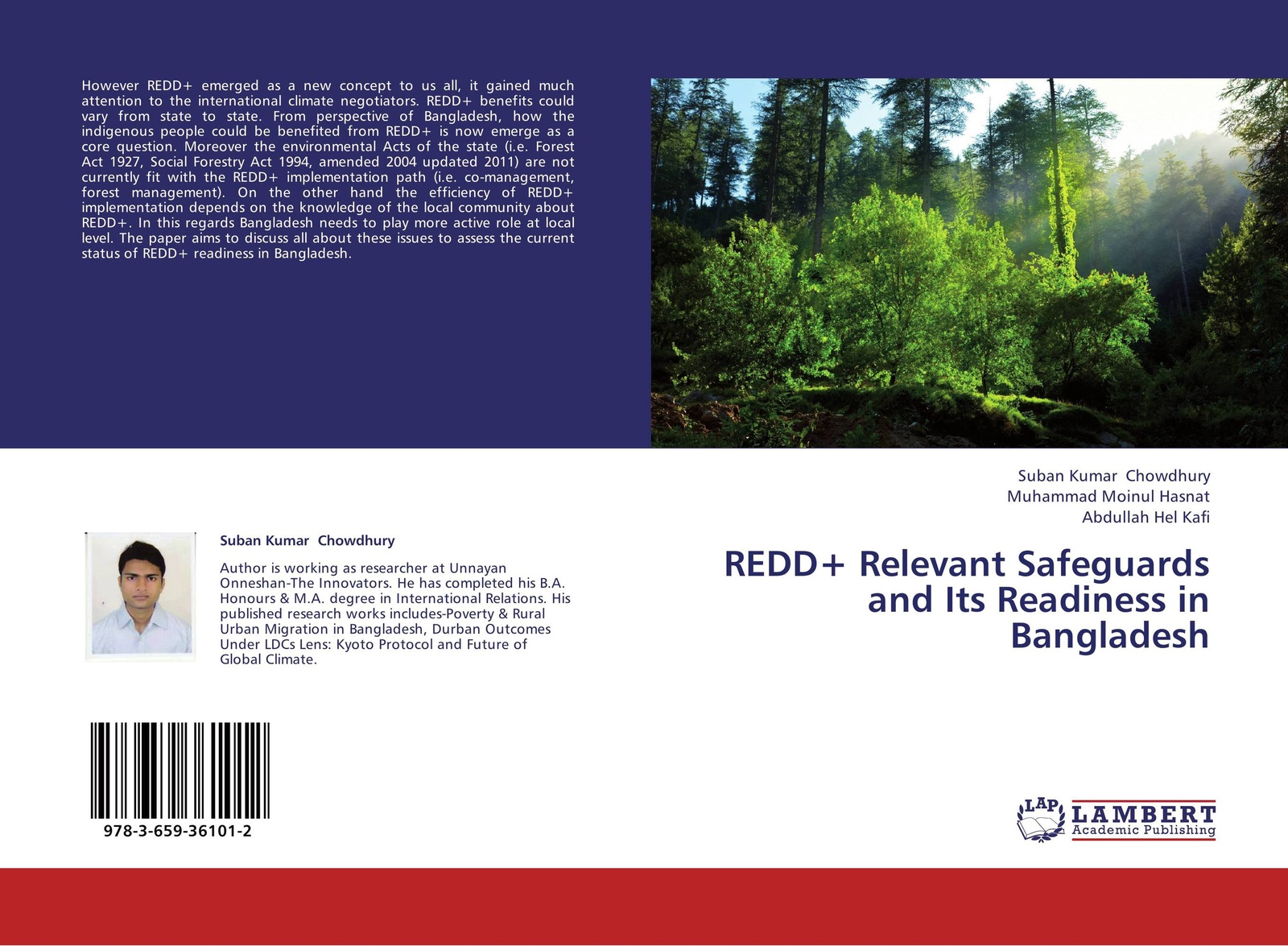 Suban Kumar Chowdhury,Muhammad Moinul Hasnat and Abdullah Hel Kafi REDD+ Relevant Safeguards and Its Readiness in Bangladesh недорго, оригинальная цена