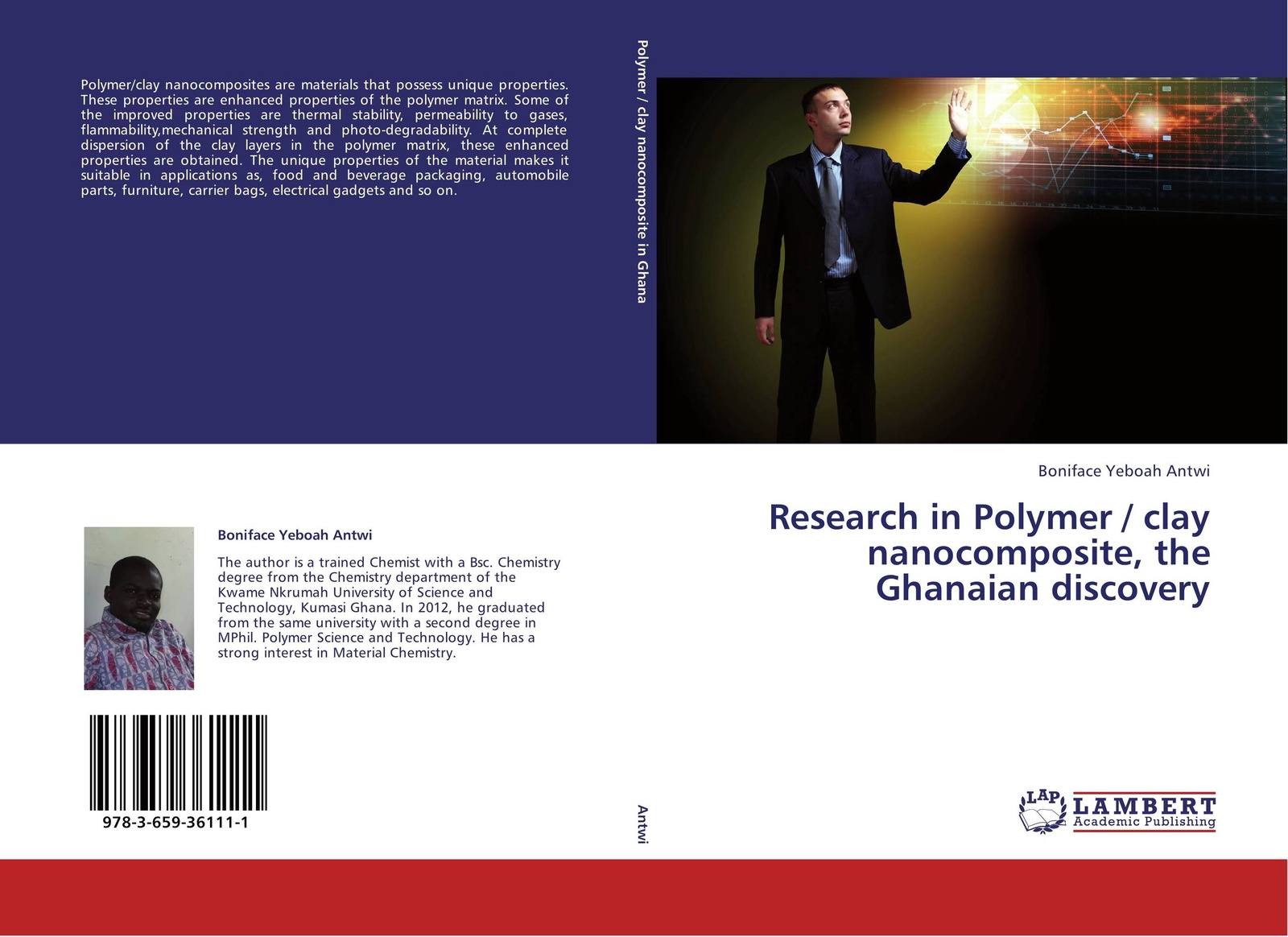 Boniface Yeboah Antwi Research in Polymer / clay nanocomposite, the Ghanaian discovery unique packaging