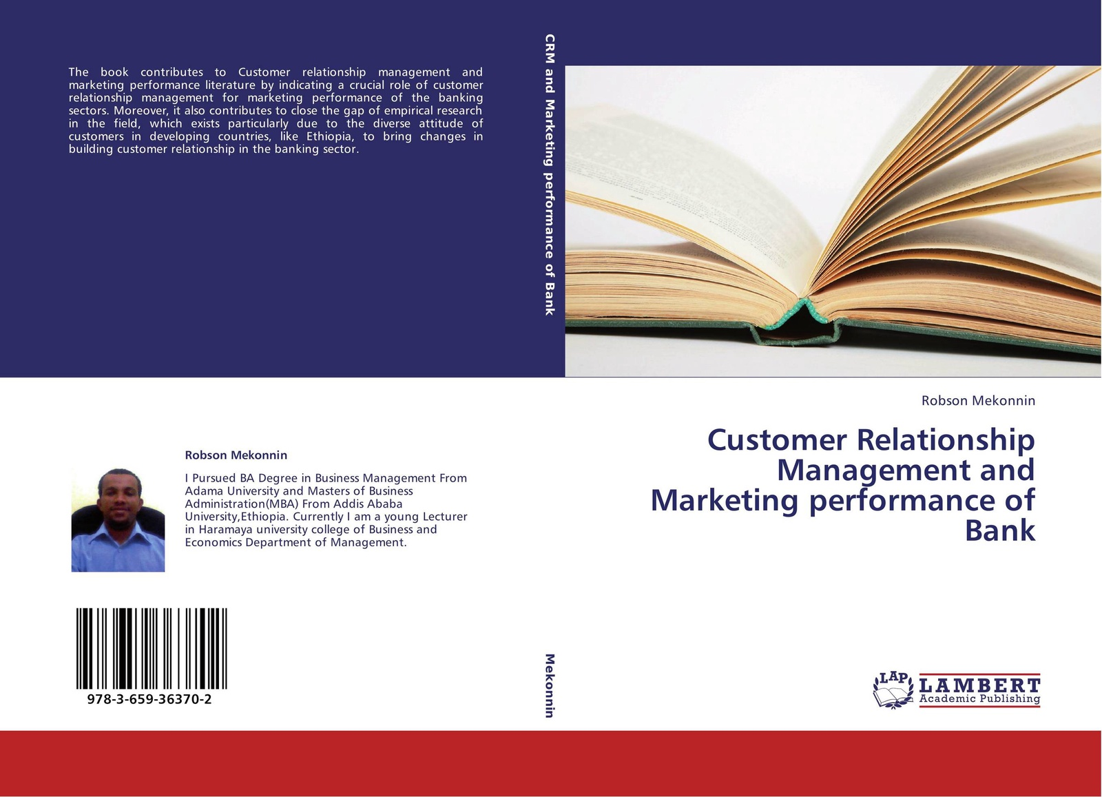 Robson Mekonnin Customer Relationship Management and Marketing performance of Bank aga kamilla it fur kunden qualitatsmanagement bei customer relationship management