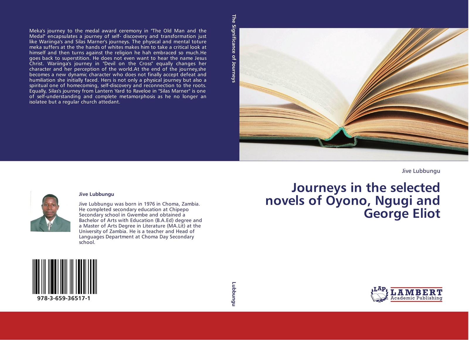 Jive Lubbungu Journeys in the selected novels of Oyono, Ngugi and George Eliot journeys in the selected novels of oyono ngugi and george eliot