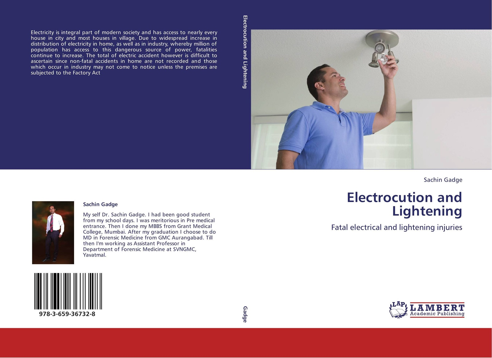 Фото - Sachin Gadge Electrocution and Lightening arthur bridgman clark art principles in house furniture and village building an exposition of designing principles which every house builder furniture user and village dweller should know