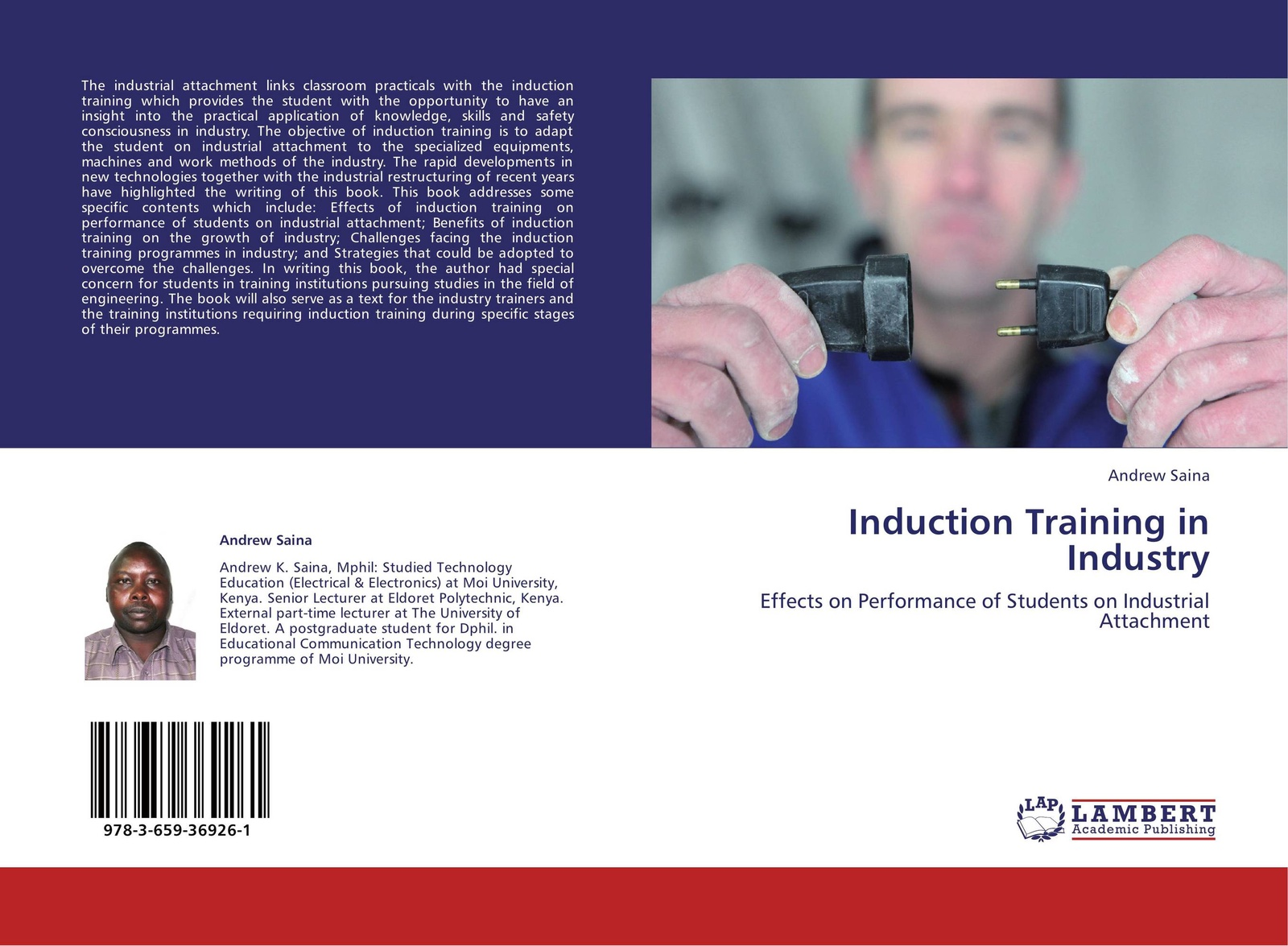 Andrew Saina Induction Training in Industry innovative reflections of teacher training programmes