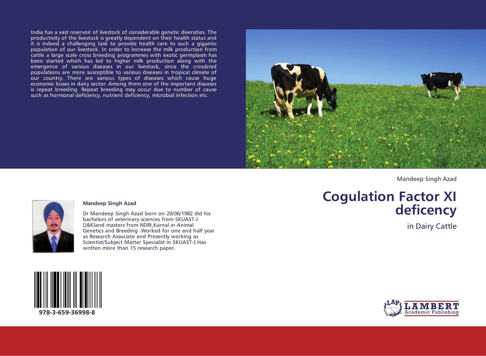 Mandeep Singh Azad Cogulation Factor XI deficency didanna habtamu lemma livestock production systems in the tropics