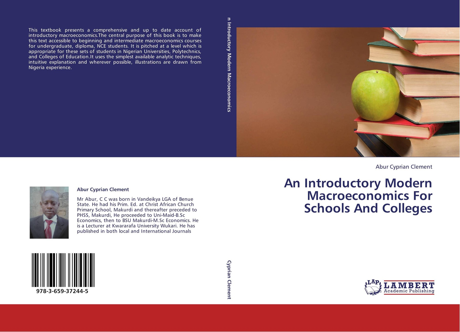 Фото - Abur Cyprian Clement An Introductory Modern Macroeconomics For Schools And Colleges introduction to the principles of sociology a text book for colleges and universities