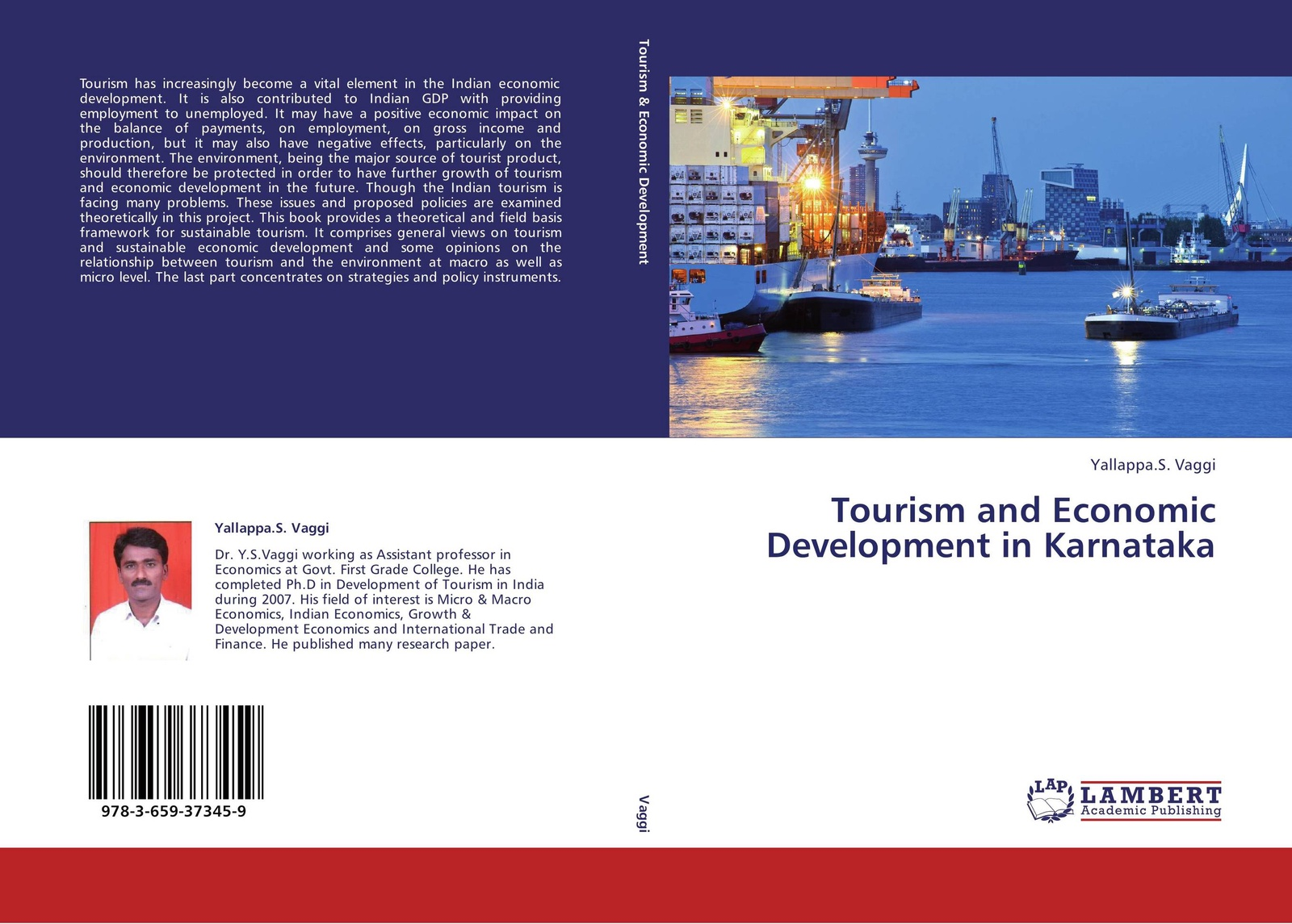 Yallappa.S. Vaggi Tourism and Economic Development in Karnataka