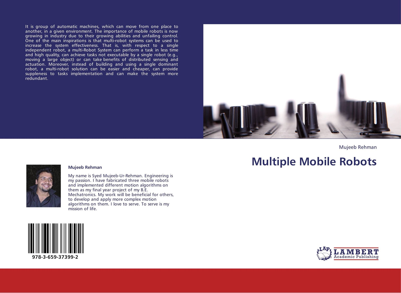 Mujeeb Rehman Multiple Mobile Robots can can the singles