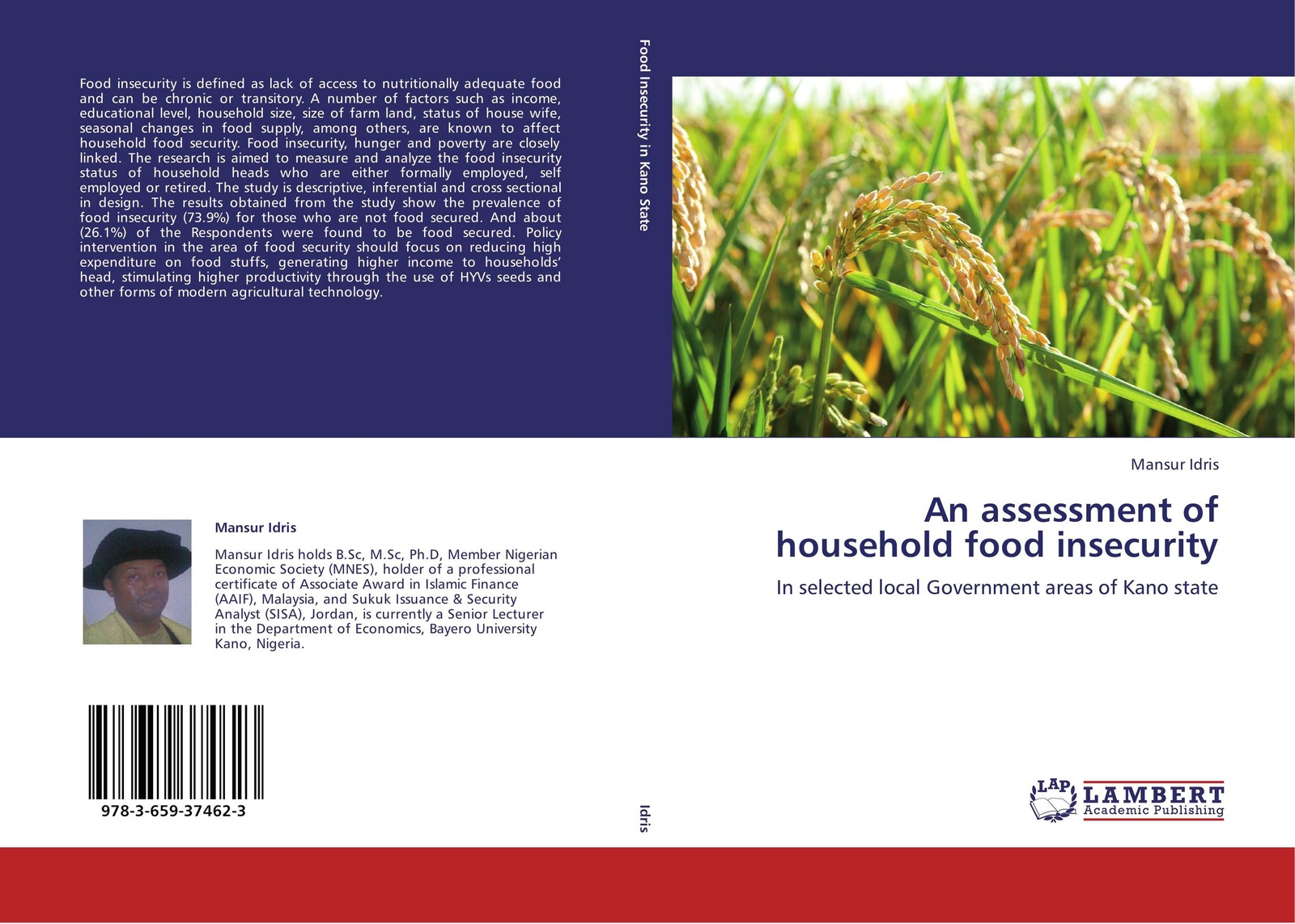 Mansur Idris An assessment of household food insecurity women s indigenous knowledge in household food security