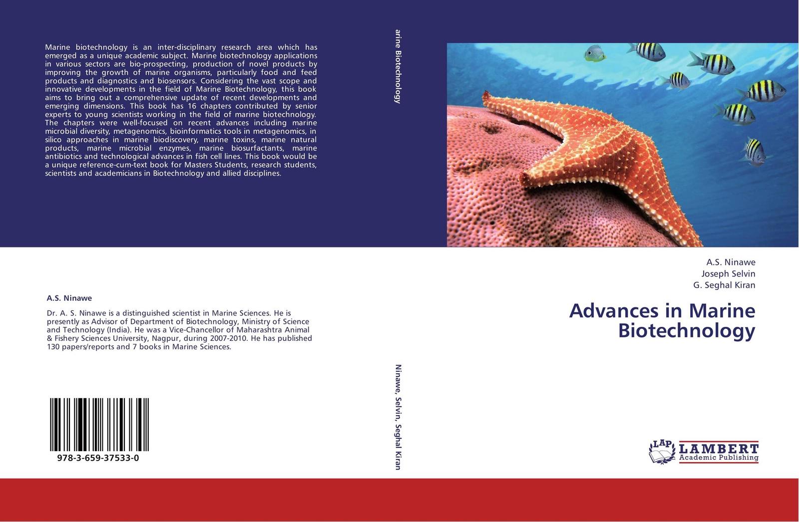 A.S. Ninawe,Joseph Selvin and G. Seghal Kiran Advances in Marine Biotechnology