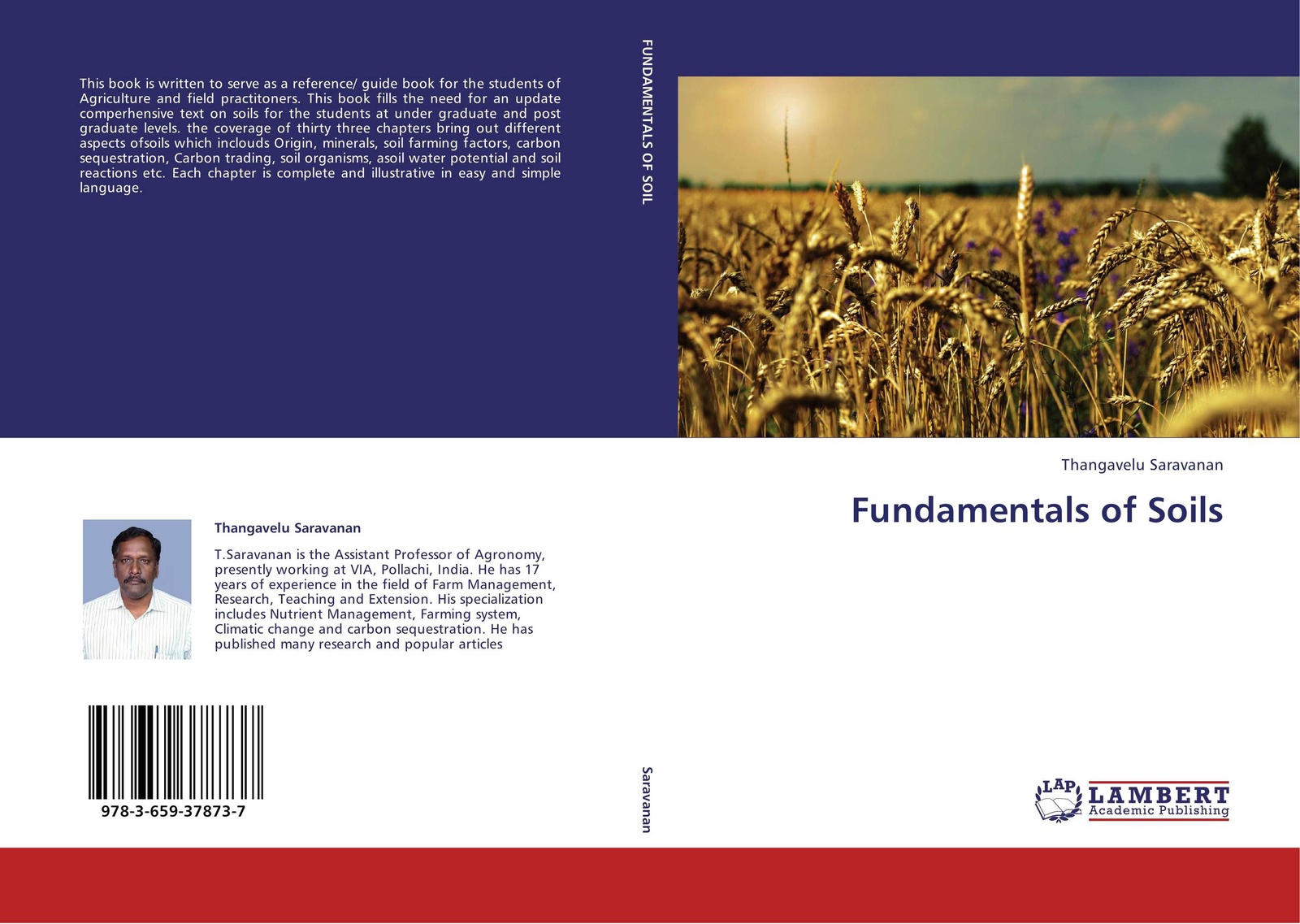 Фото - Thangavelu Saravanan Fundamentals of Soils frank d 1864 1963 gardner soils and soil cultivation