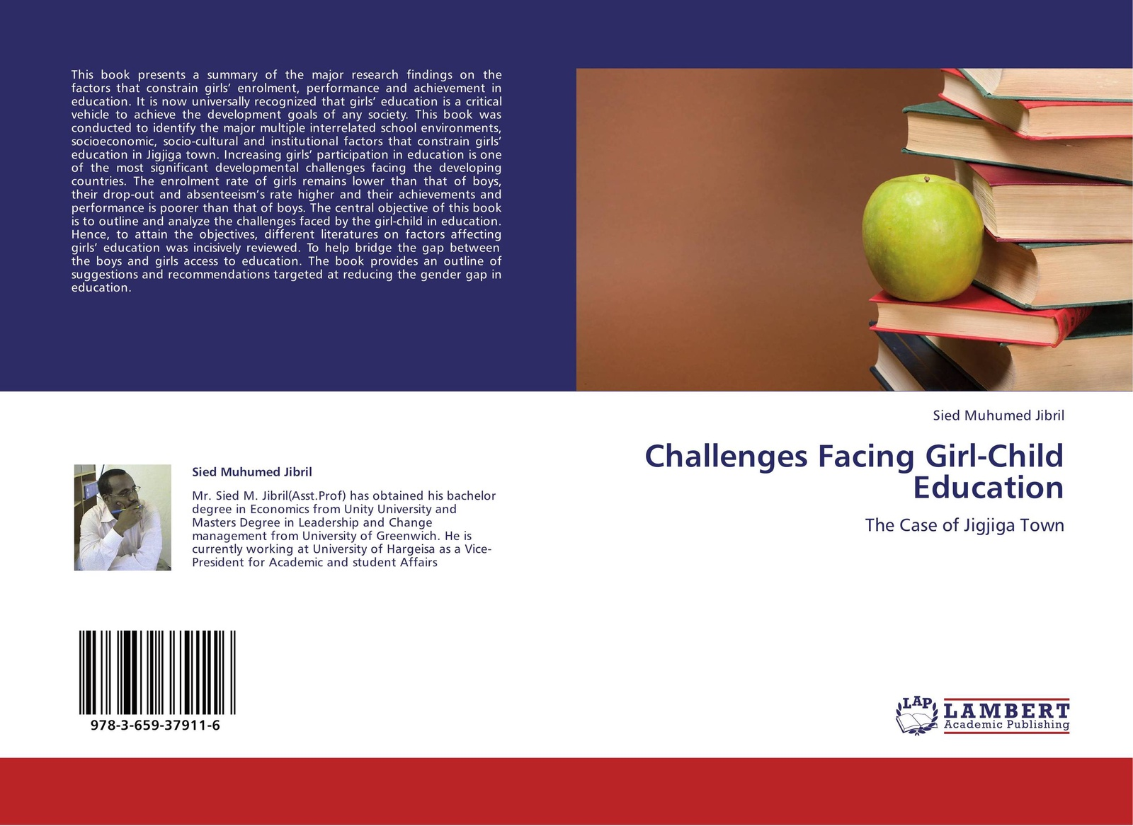 Sied Muhumed Jibril Challenges Facing Girl-Child Education the girls book of crafts