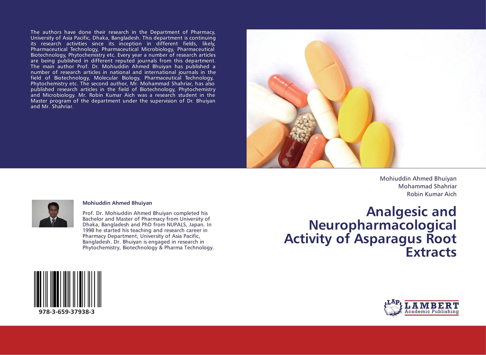 Mohiuddin Ahmed Bhuiyan,Mohammad Shahriar and Robin Kumar Aich Analgesic and Neuropharmacological Activity of Asparagus Root Extracts nap national academy press research priorities in tropical biology