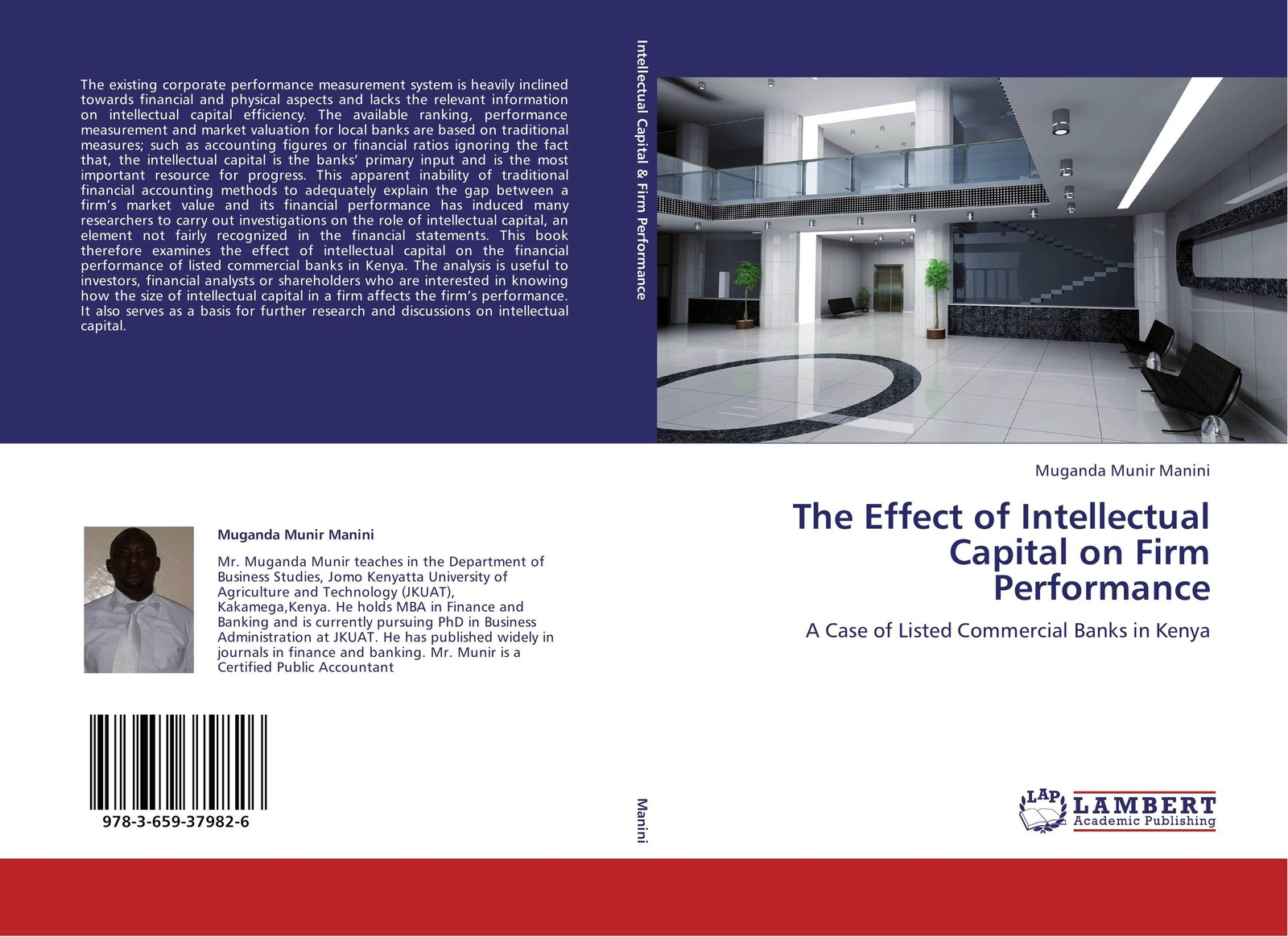 Muganda Munir Manini The Effect of Intellectual Capital on Firm Performance цена в Москве и Питере