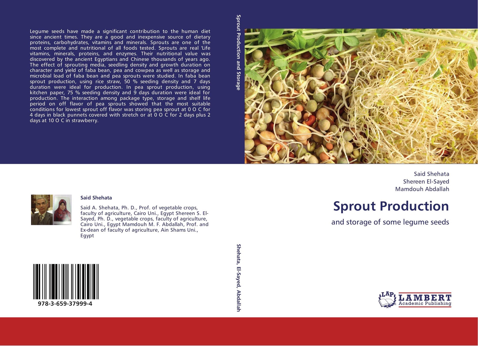 Said Shehata,Shereen El-Sayed and Mamdouh Abdallah Sprout Production three layer bean sprouts machine domestic automatic large capacity bean sprouts bean sprouts pot sprout pot bud pot