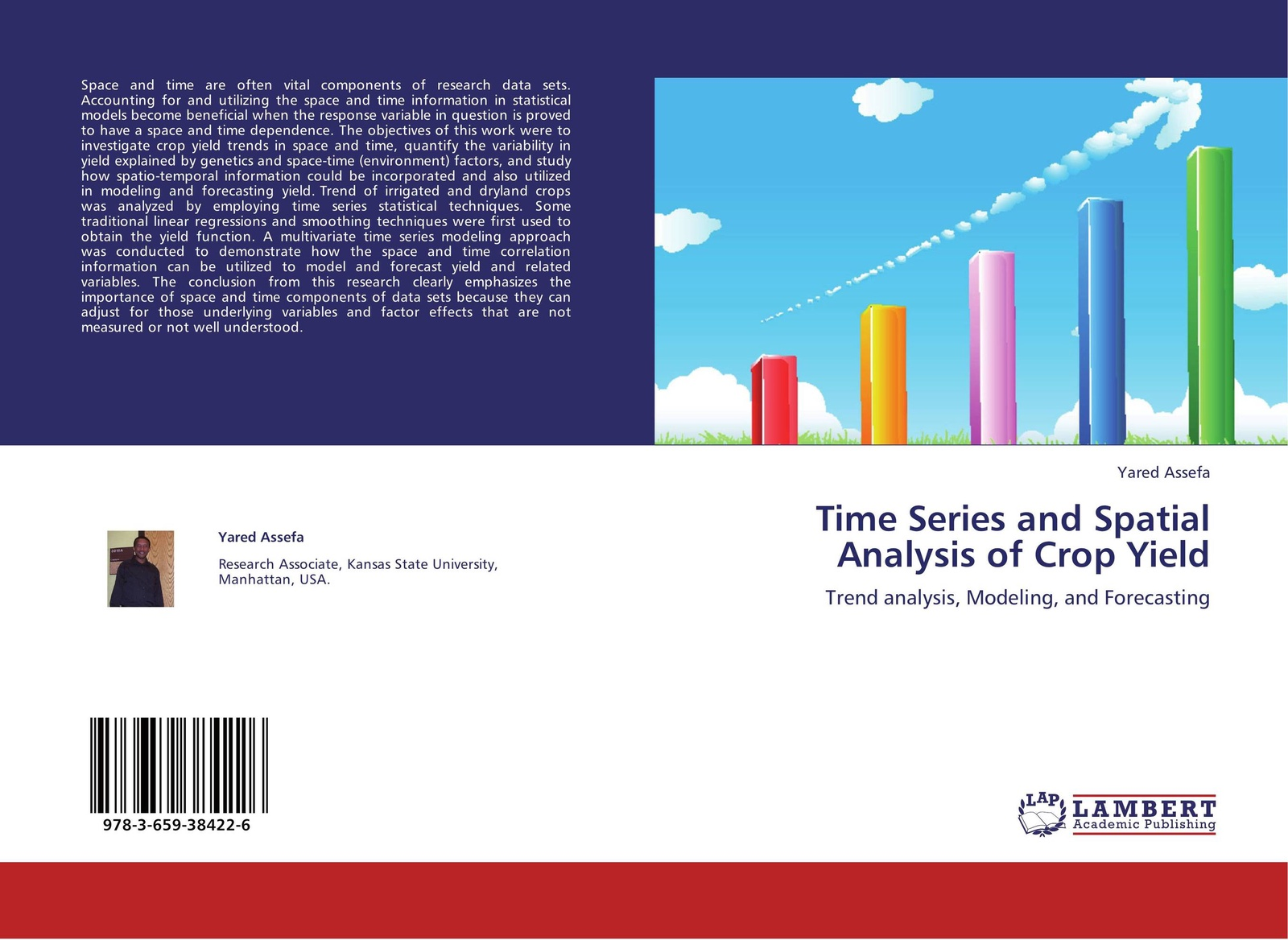 Yared Assefa Time Series and Spatial Analysis of Crop Yield блокнот printio space and time