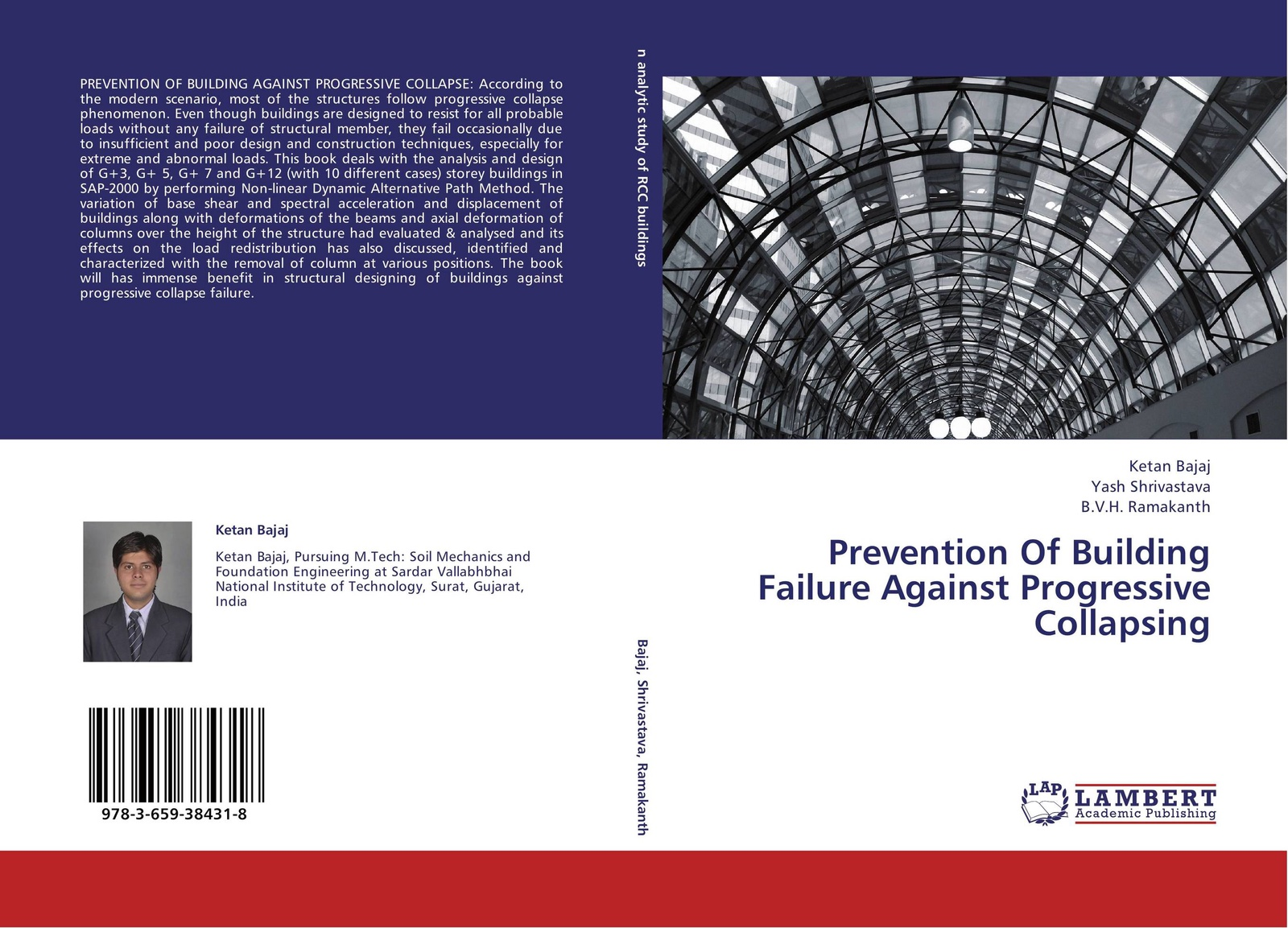Ketan Bajaj,Yash Shrivastava and B.V.H. Ramakanth Prevention Of Building Failure Against Progressive Collapsing paul smith structural design of buildings