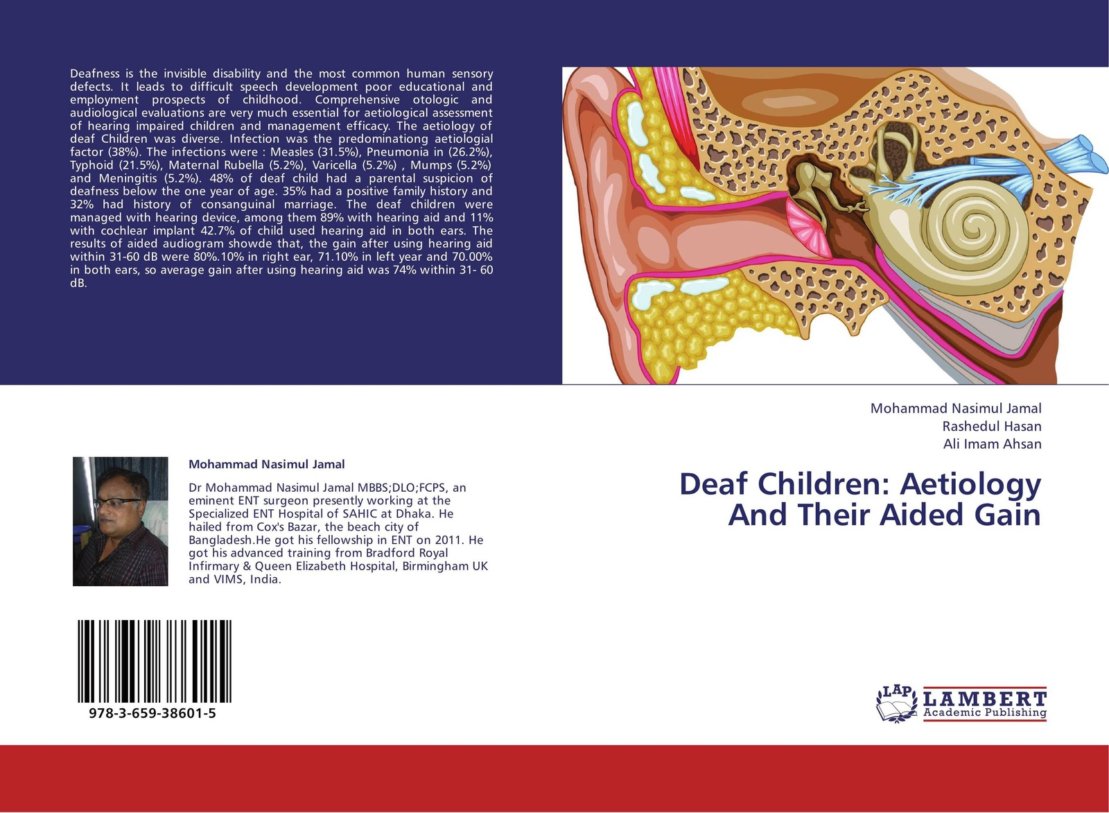 Mohammad Nasimul Jamal,Rashedul Hasan and Ali Imam Ahsan Deaf Children: Aetiology And Their Aided Gain alphard deaf bonce db t35neo