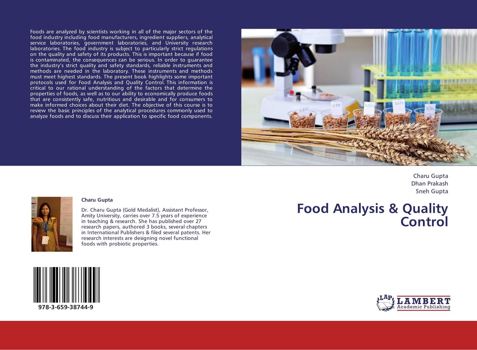 Фото - Charu Gupta,Dhan Prakash and Sneh Gupta Food Analysis & Quality Control hae soo kwak nano and microencapsulation for foods