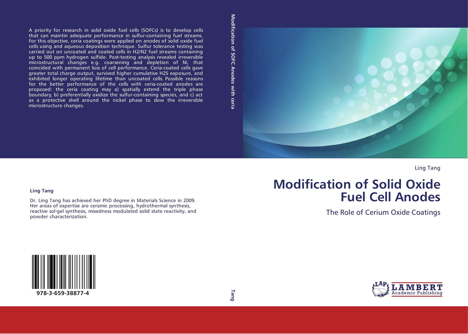 Ling Tang Modification of Solid Oxide Fuel Cell Anodes ceria based nano catalysts
