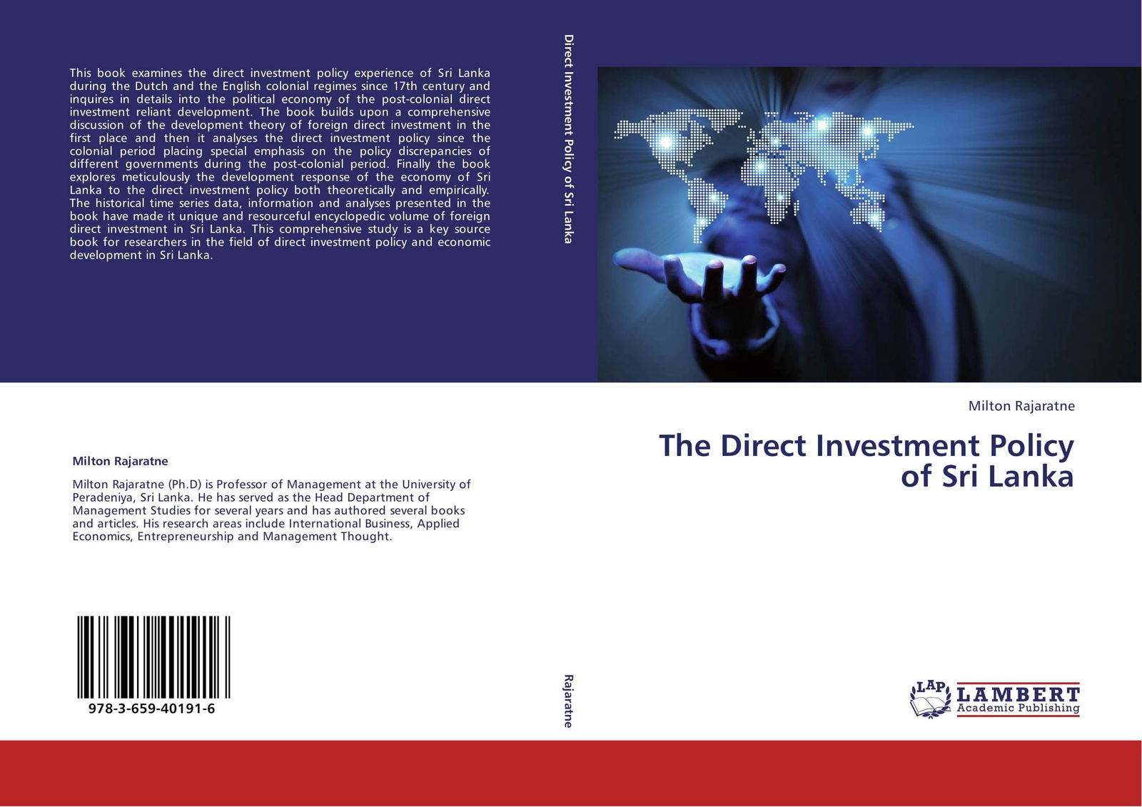 Milton Rajaratne The Direct Investment Policy of Sri Lanka andreas epperlein foreign direct investment in ireland under consideration of the financial services sector in particular
