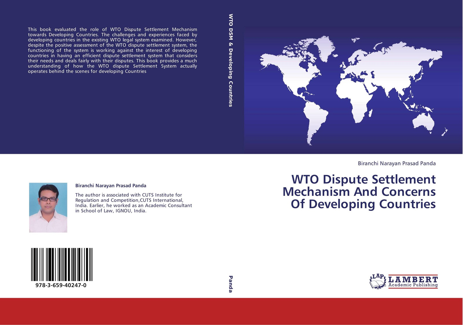 Biranchi Narayan Prasad Panda WTO Dispute Settlement Mechanism And Concerns Of Developing Countries world trade organization dispute settlement reports 2012 volume 9 pages 4583 to 5302