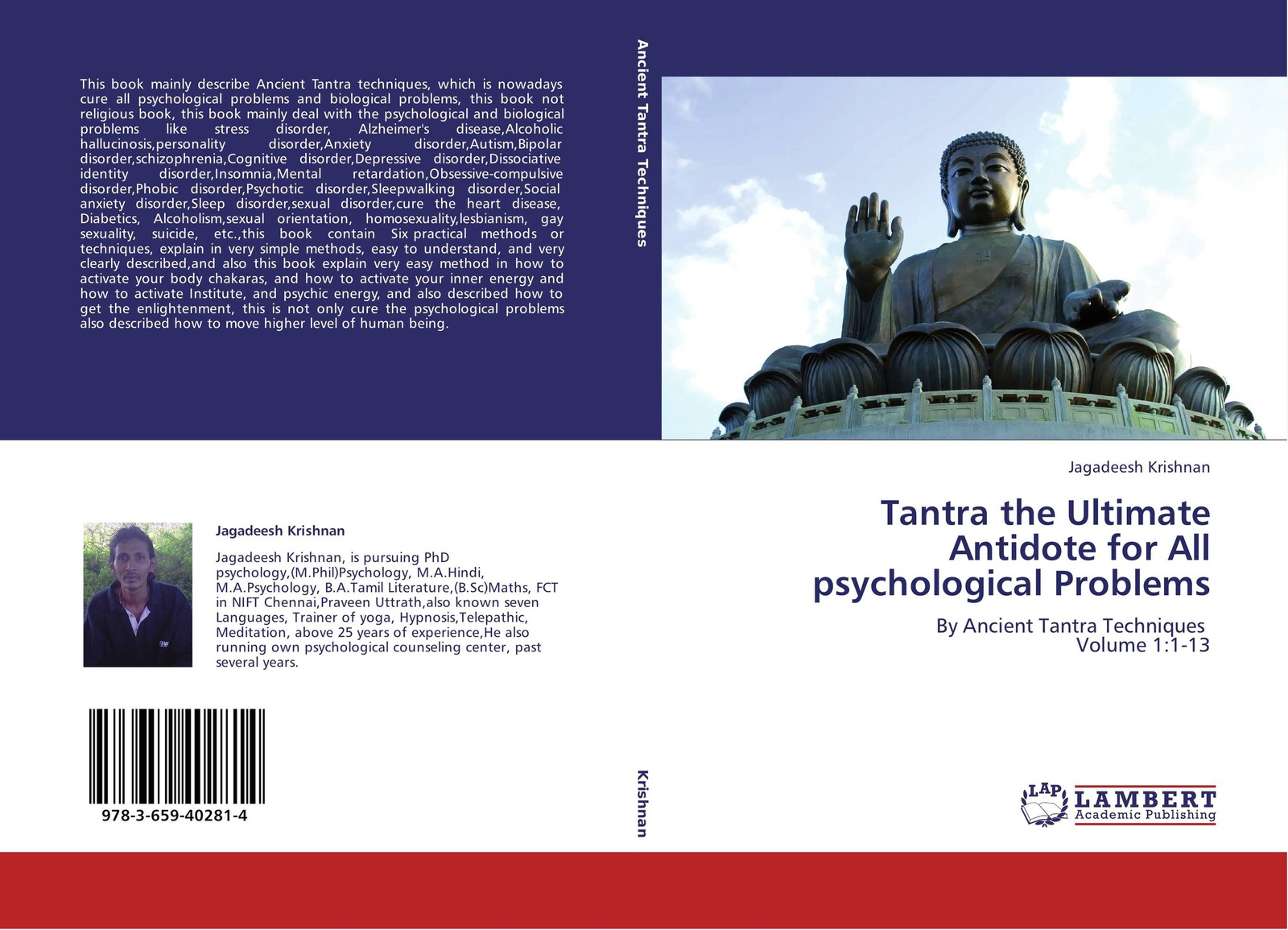 Jagadeesh Krishnan Tantra the Ultimate Antidote for All psychological Problems frueh christopher clinician s guide to posttraumatic stress disorder