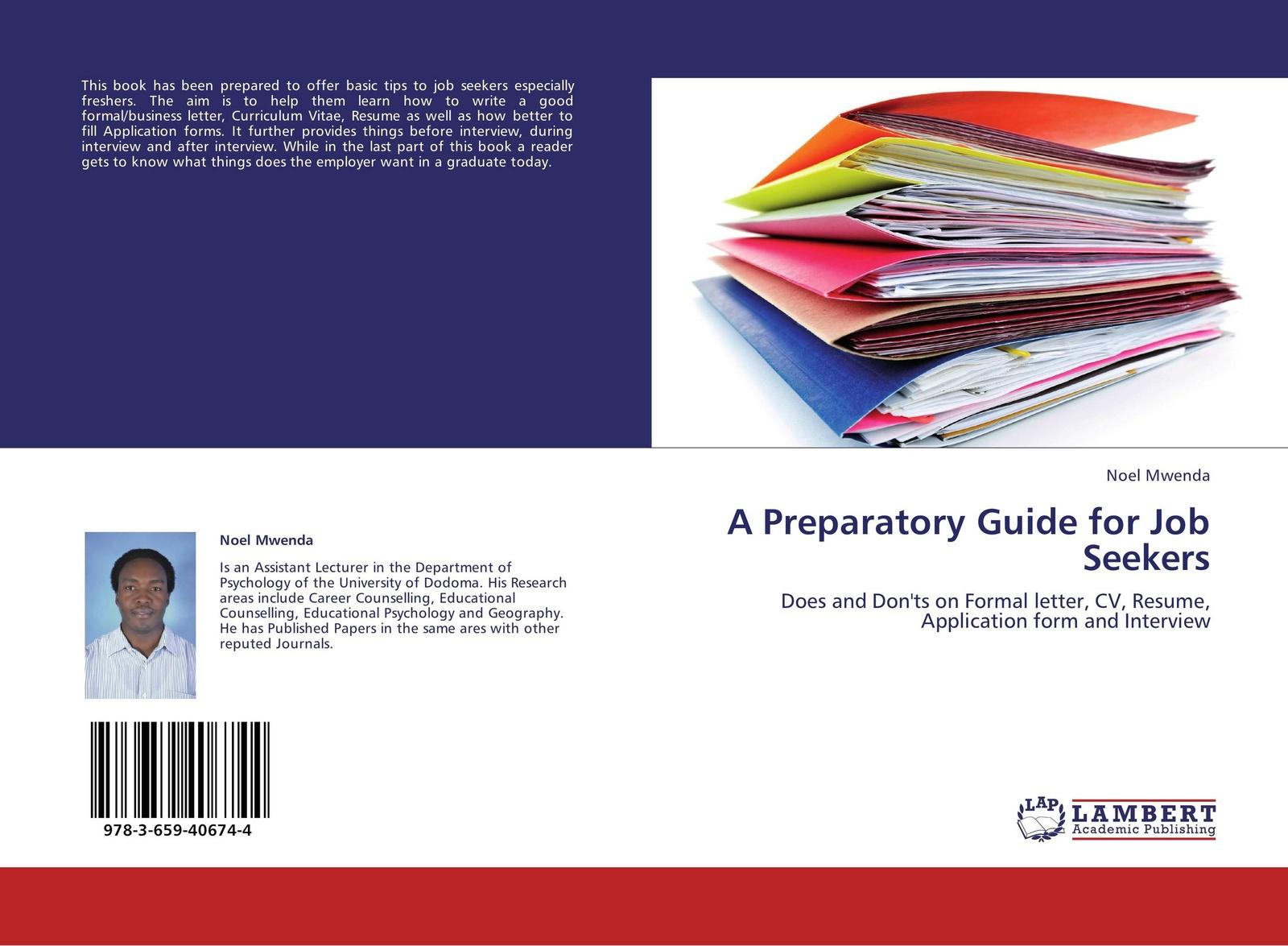 лучшая цена Noel Mwenda A Preparatory Guide for Job Seekers