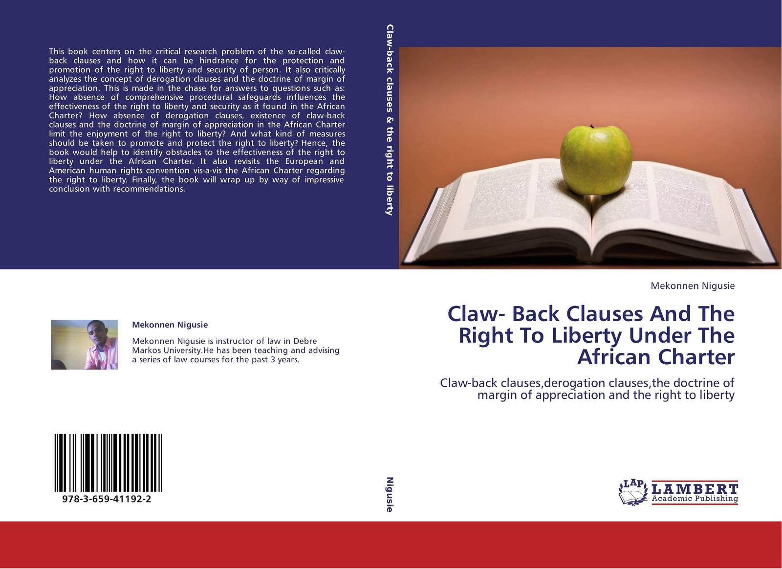 Фото - Mekonnen Nigusie Claw- Back Clauses And The Right To Liberty Under The African Charter the african union right of intervention