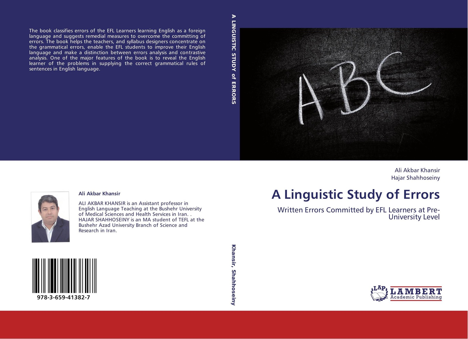 ALI AKBAR KHANSIR and Hajar Shahhoseiny A Linguistic Study of Errors fred a frederick augustus mccord errors in canadian history