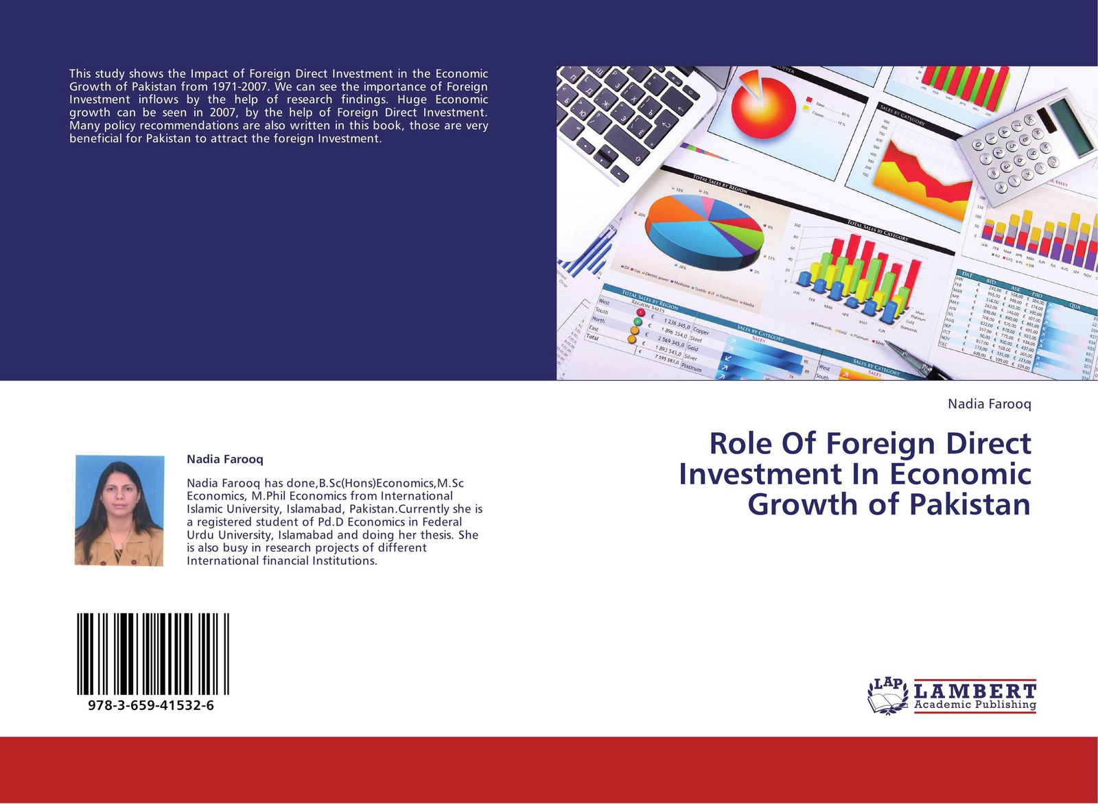 Nadia Farooq Role Of Foreign Direct Investment In Economic Growth of Pakistan andreas epperlein foreign direct investment in ireland under consideration of the financial services sector in particular