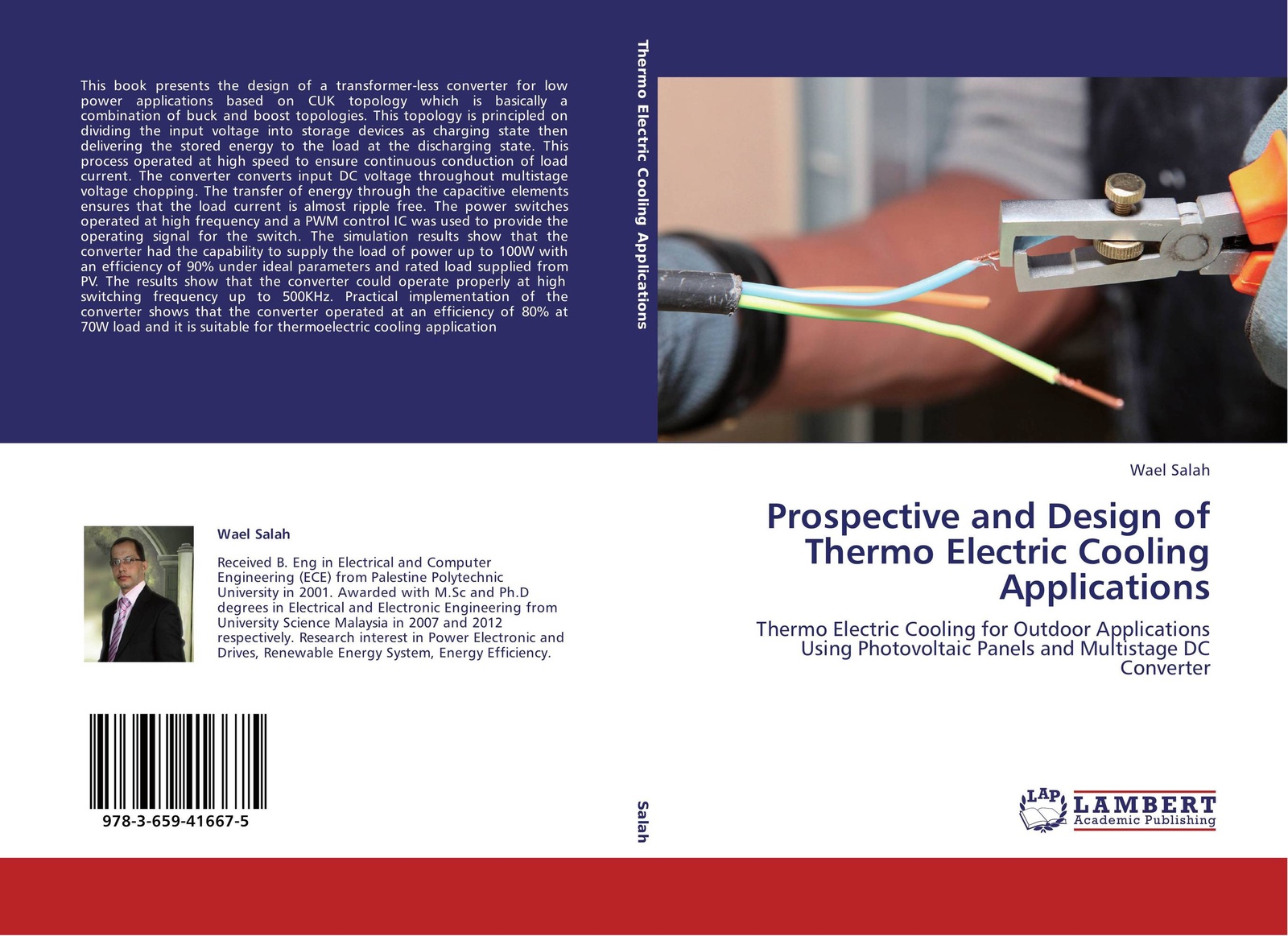 Wael Salah Prospective and Design of Thermo Electric Cooling Applications 100w 2 way ac travel voltage adapter converter