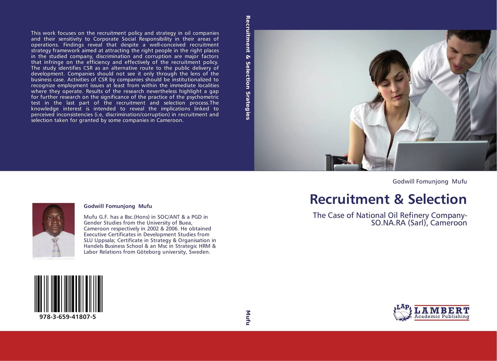 Godwill Fomunjong Mufu Recruitment & Selection journey recruitment