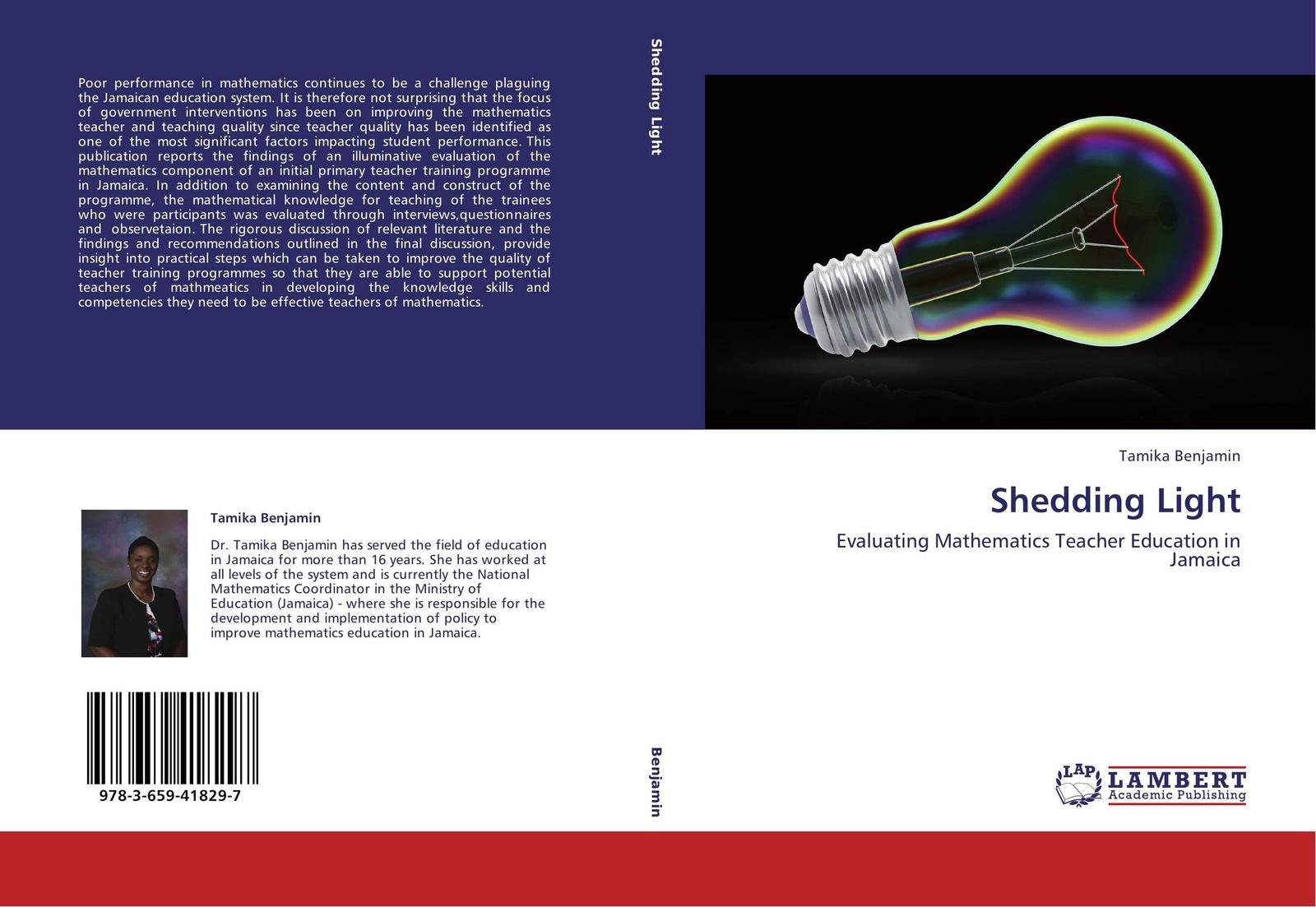 Tamika Benjamin Shedding Light innovative reflections of teacher training programmes