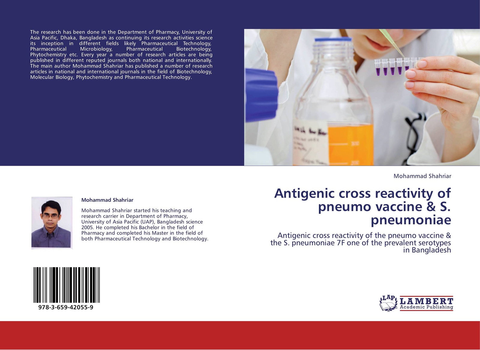 Mohammad Shahriar Antigenic cross reactivity of pneumo vaccine & S. pneumoniae gaisford simon essentials of pharmaceutical preformulation