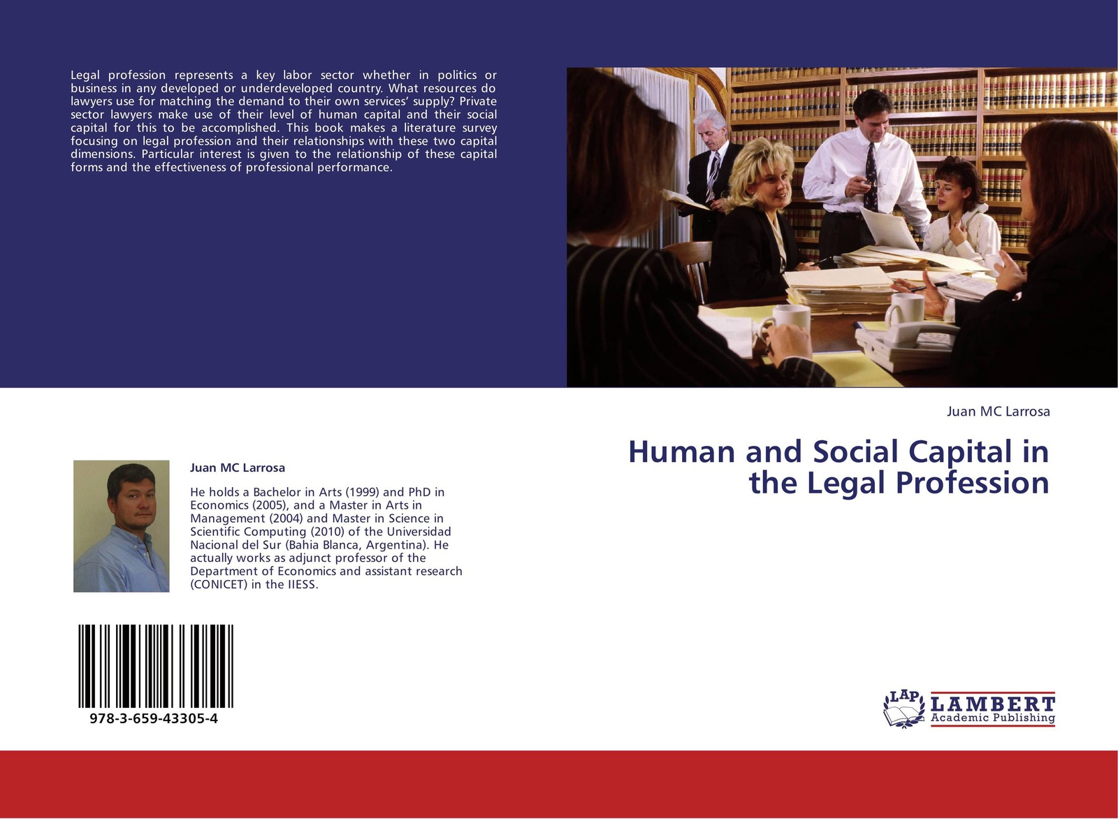 Juan MC Larrosa Human and Social Capital in the Legal Profession juan ramirez handbook of basel iii capital enhancing bank capital in practice