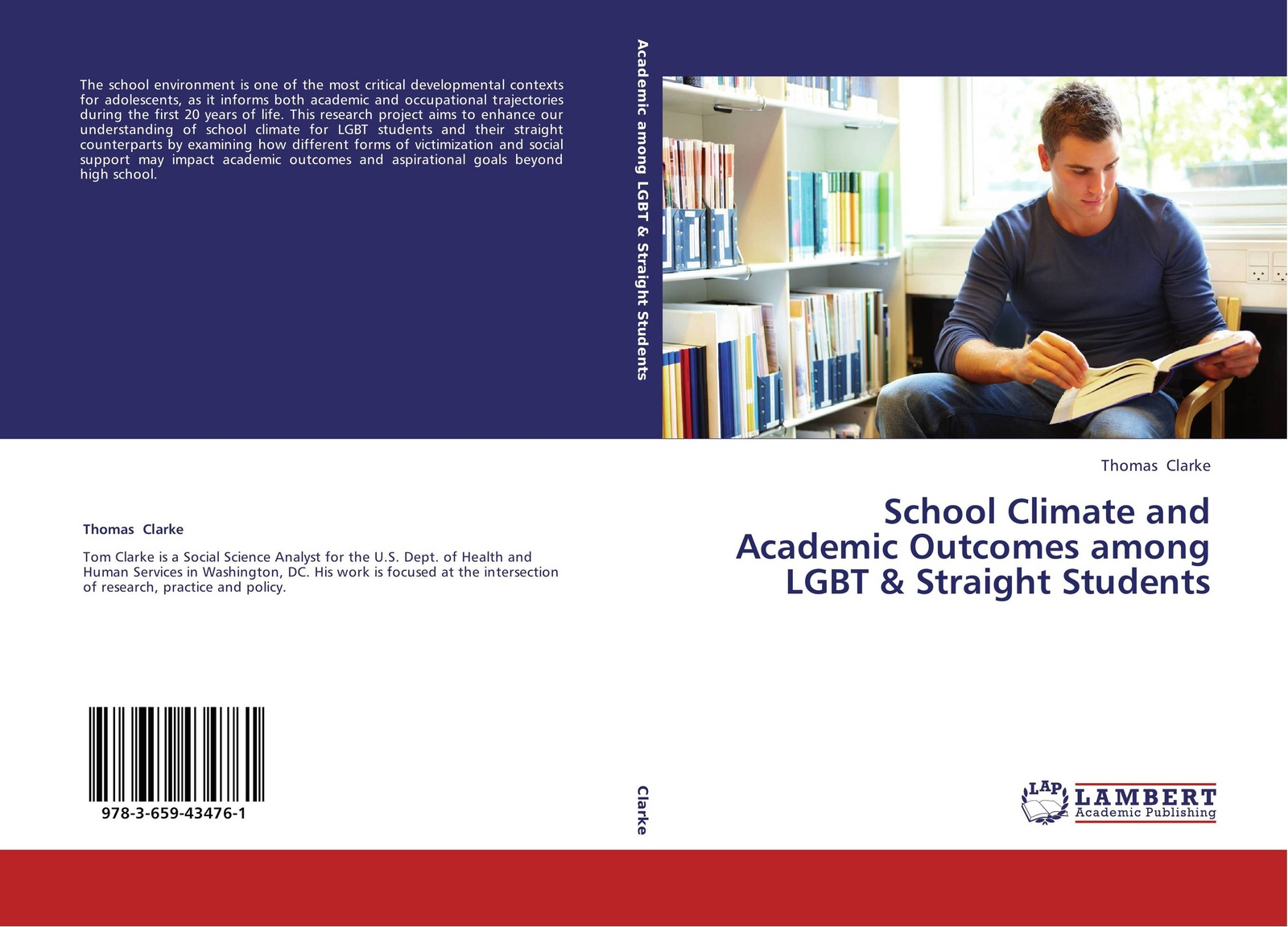 Thomas Clarke School Climate and Academic Outcomes among LGBT & Straight Students developmental climate and professional excellence
