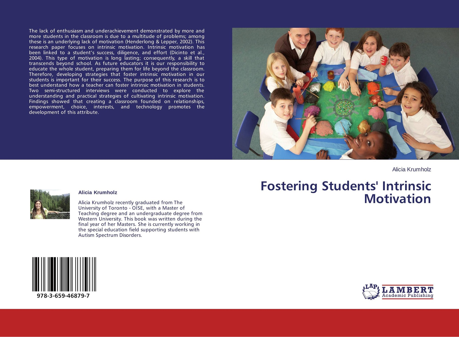 Alicia Krumholz Fostering Students' Intrinsic Motivation motivation and action