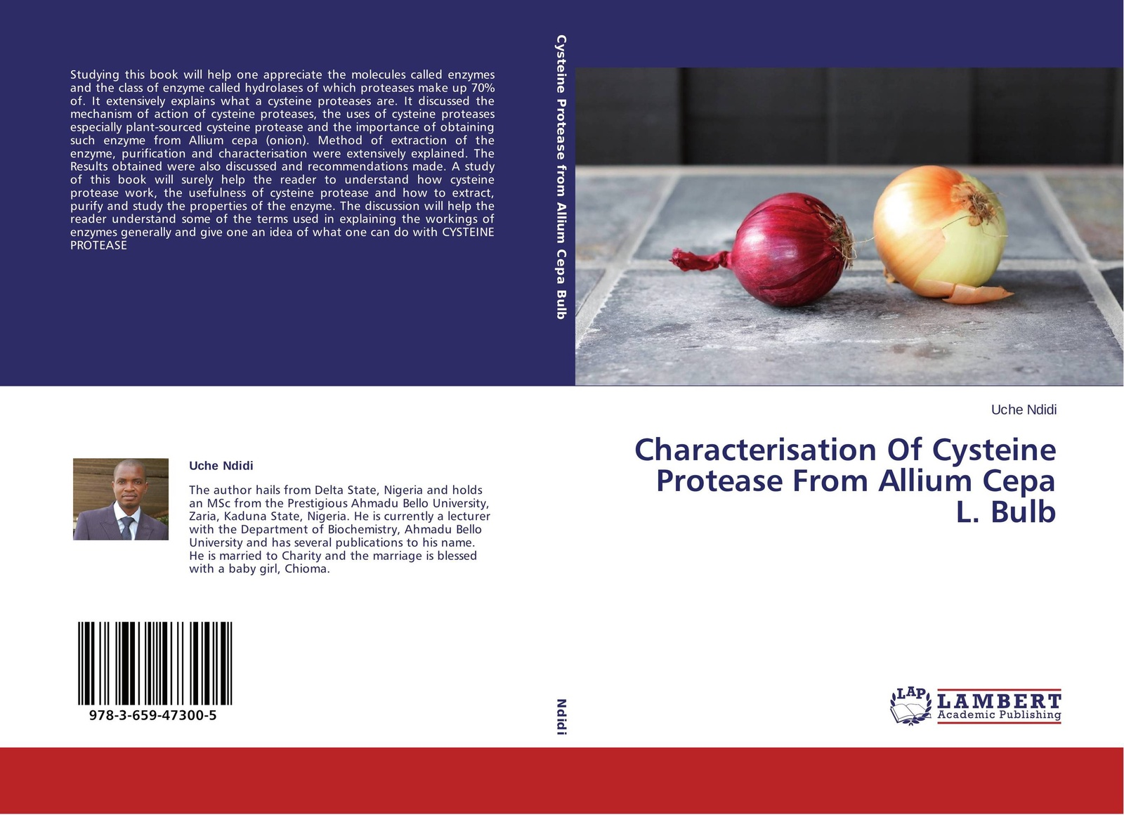 Uche Ndidi Characterisation Of Cysteine Protease From Allium Cepa L. Bulb neha khandelwal protease inhibitors potential and constraints