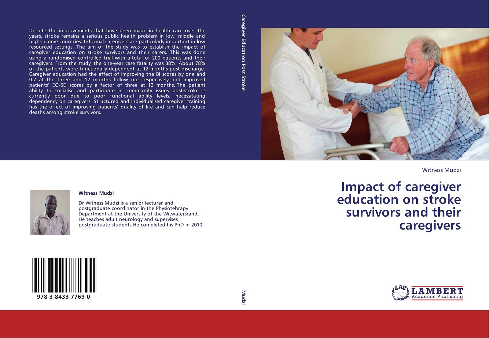 Witness Mudzi Impact of caregiver education on stroke survivors and their caregivers gait and balance performance in stroke survivors