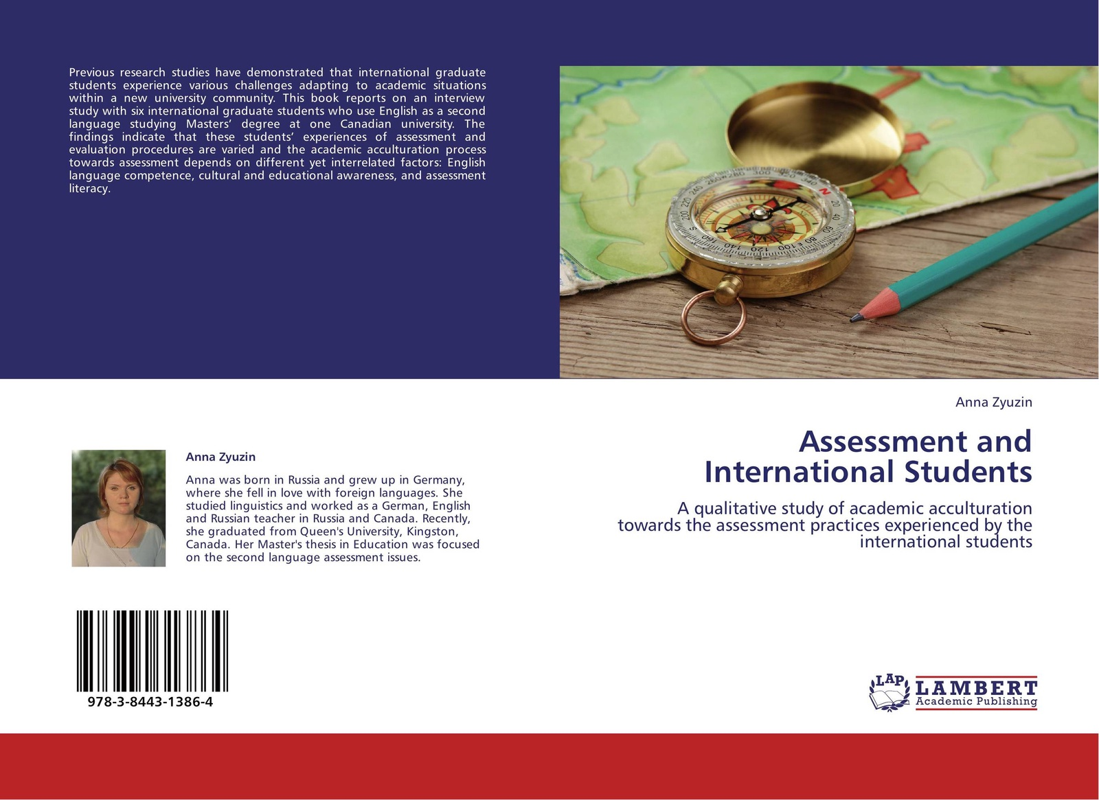 Anna Zyuzin Assessment and International Students students assessment